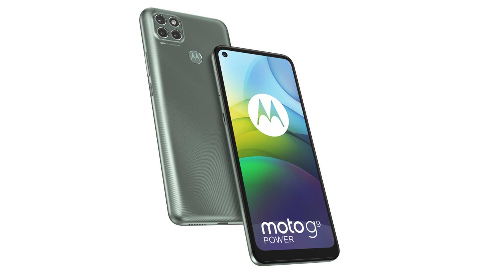 Der Name des Moto G9 Power deutet bereits an, wo die Stärke des Smartphones liegen soll.