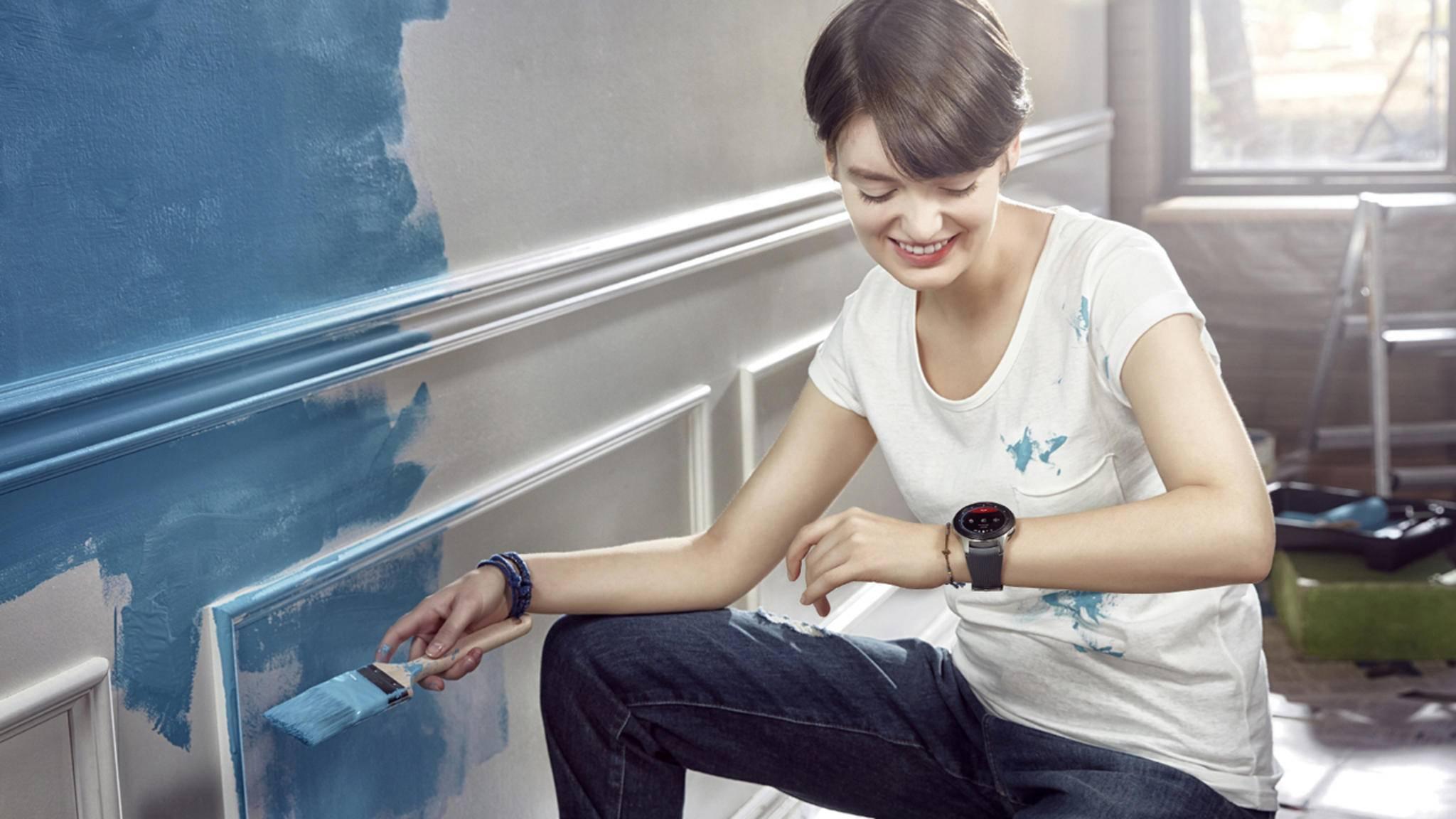 Mach Dir Deine Welt, wie sie Dir gefällt – mit der Samsung Galaxy Watch.