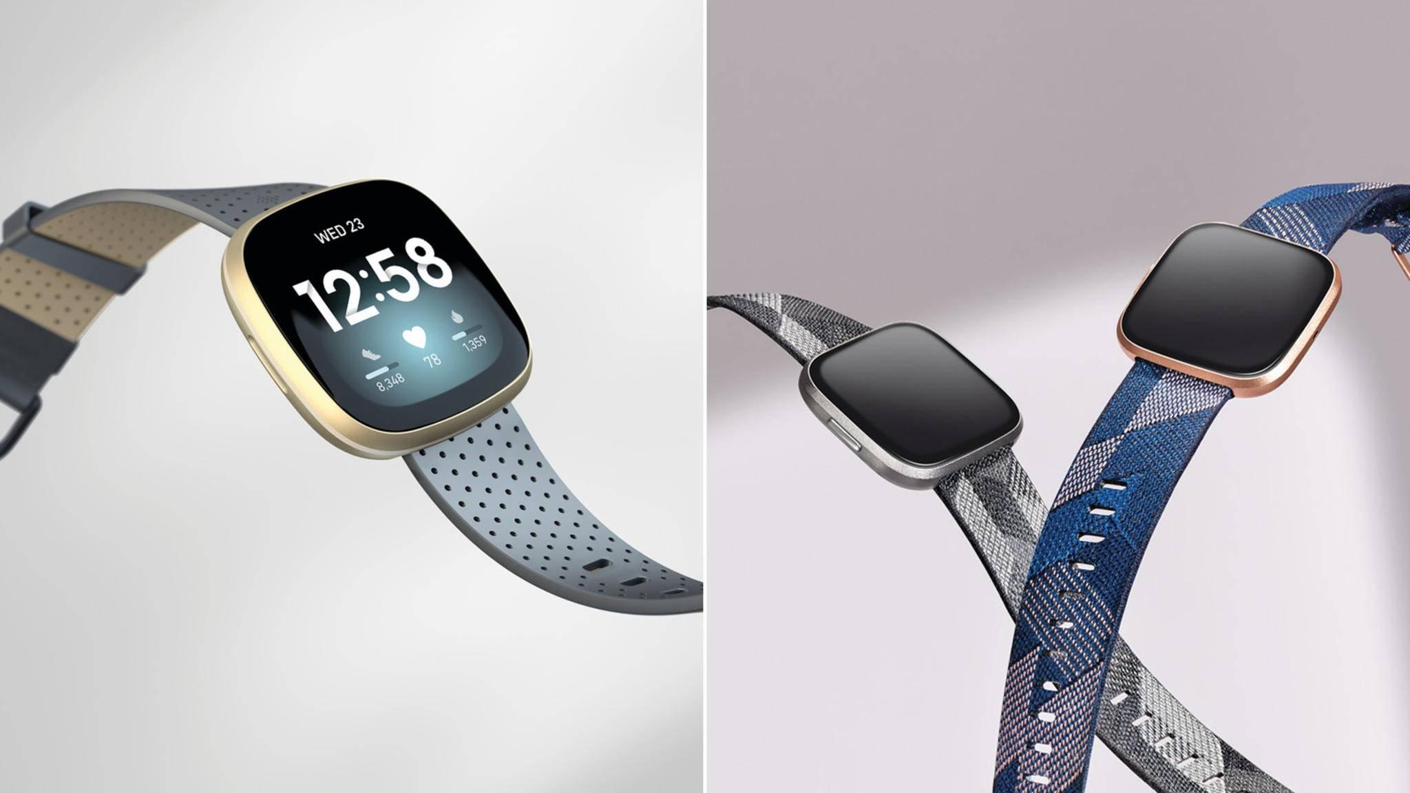 Fitbit Versa 3 und Versa 2 Vergleich Teaserbild