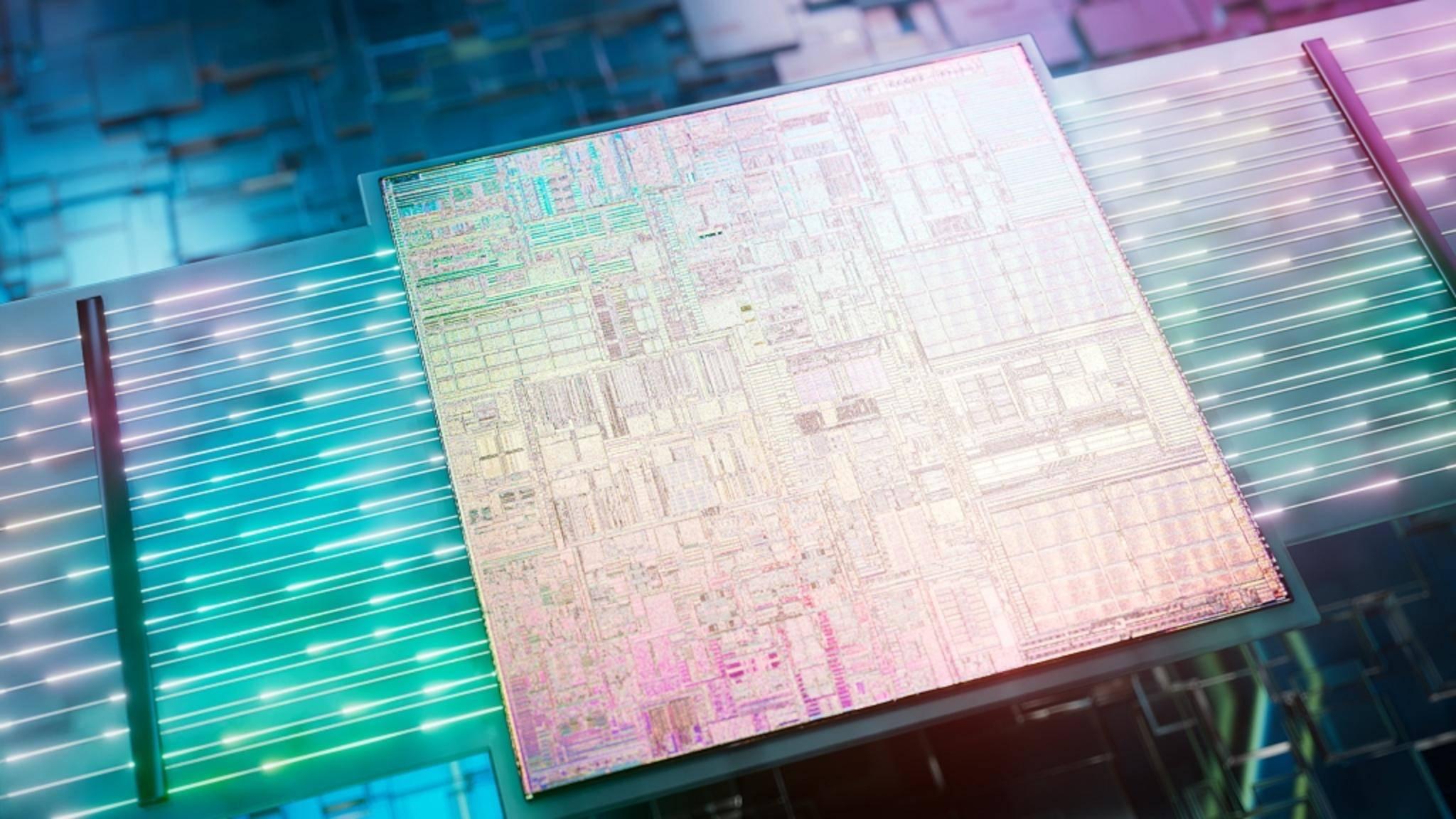 Intel-Prozessor-optische-Schnittstelle