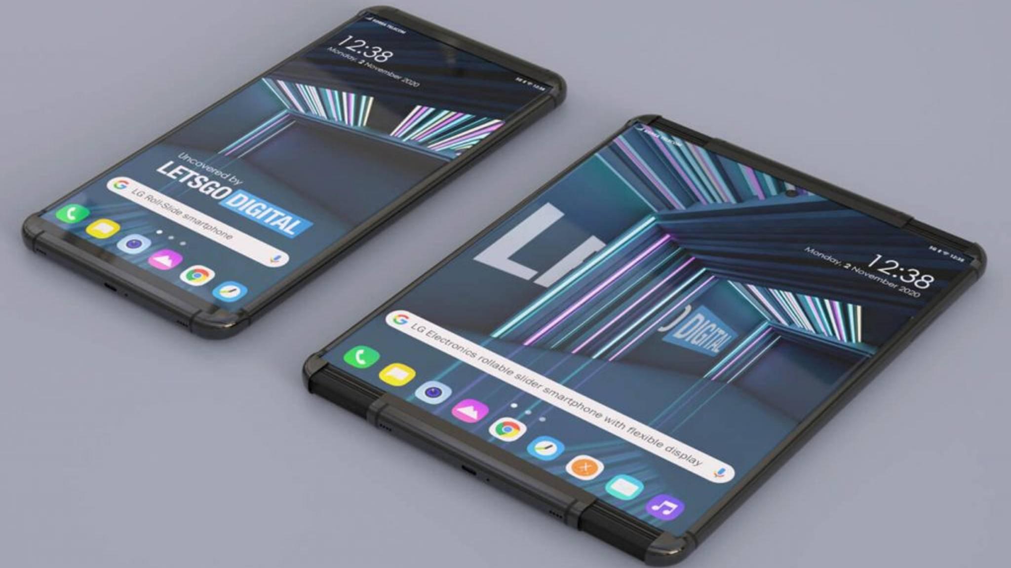 LG Rollable Konzept