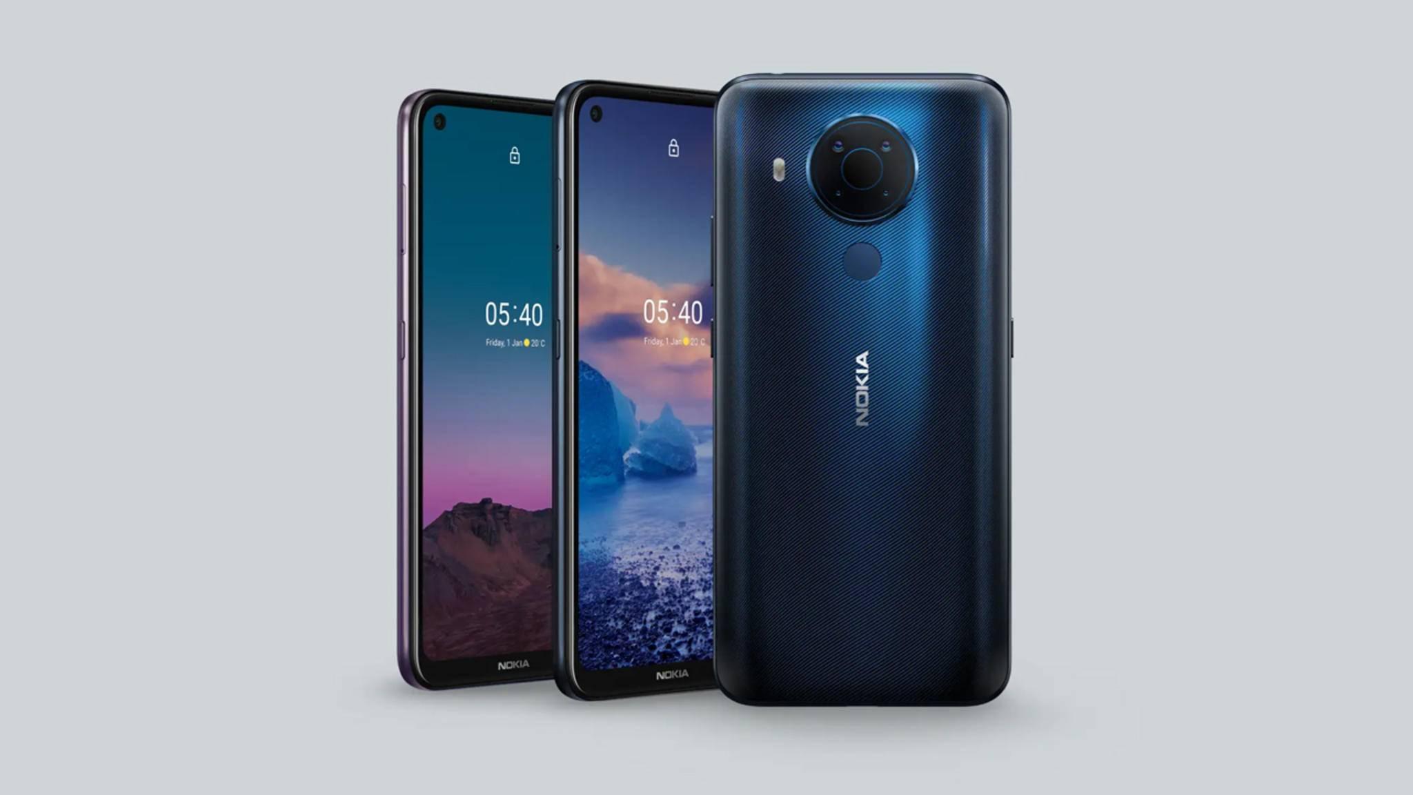 HMD Global stellt das neuste Mitglied der 5er-Serie vor: das Nokia 5.4.