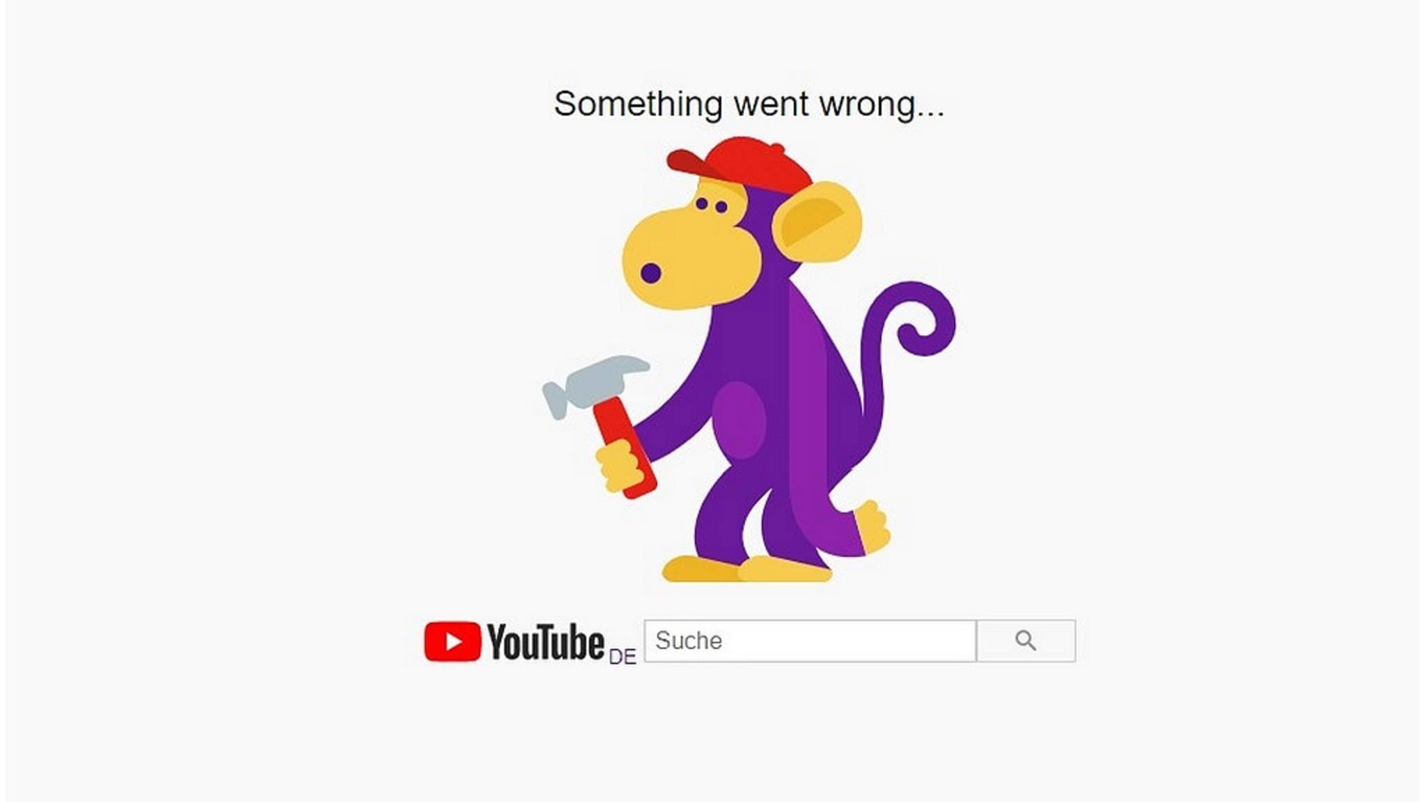 Google-Dienste wie YouTube sind weltweit down.