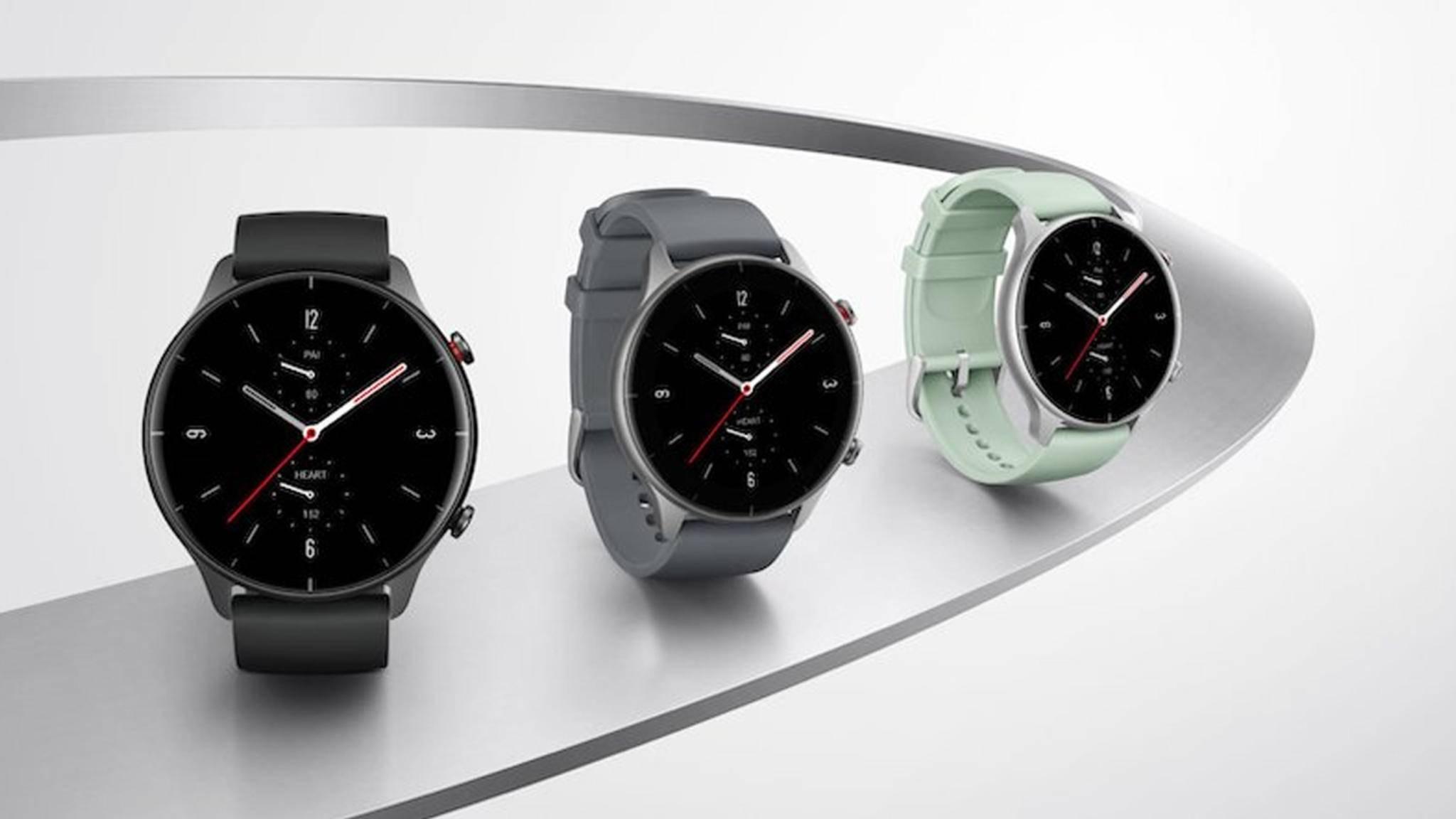 Huami hat zwei neue Smartwatches vorgestellt, darunter die Amazfit GTR 2e.