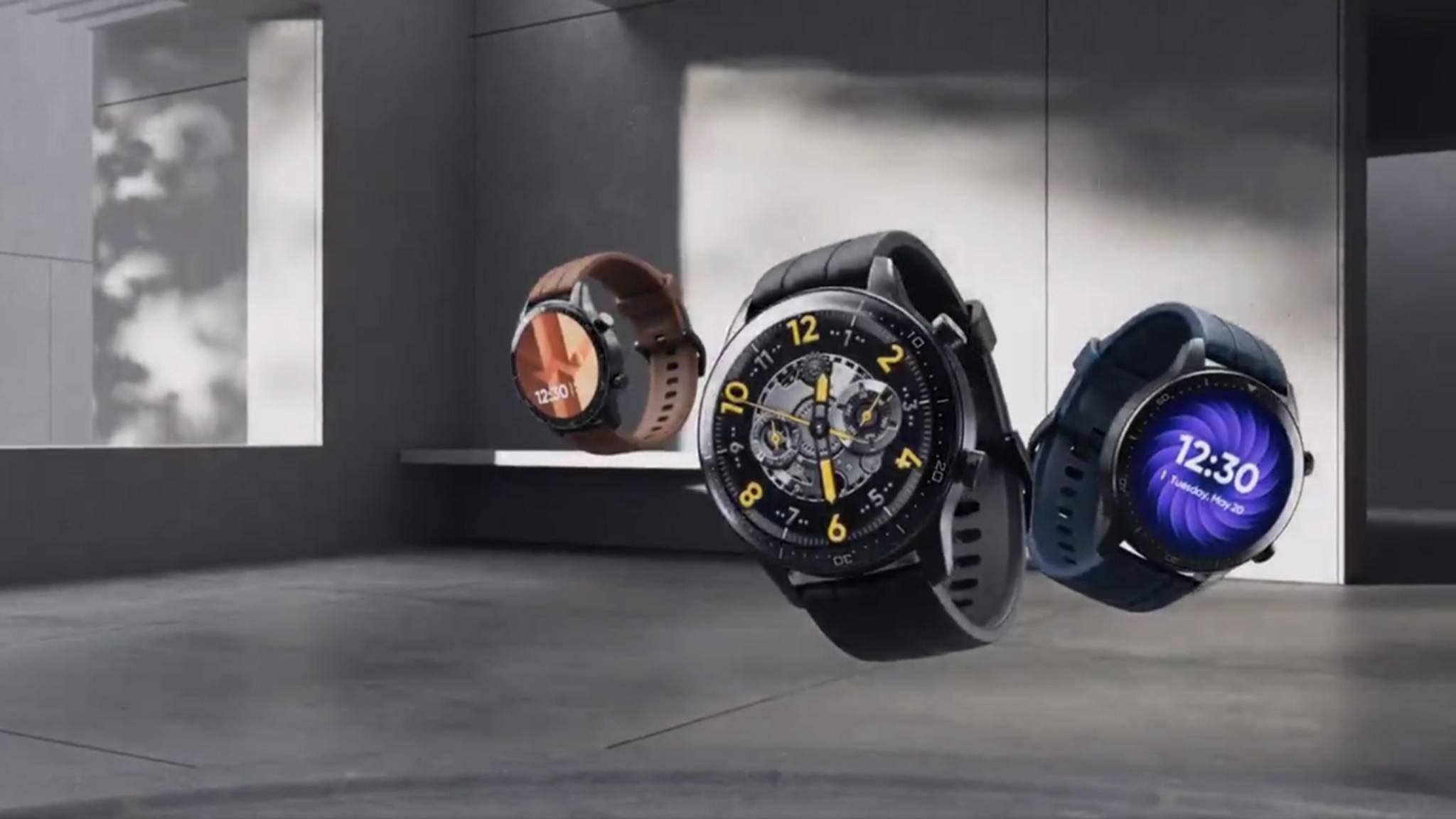 Die erste High-End-Smartwatch von Realme zeigt sich in einem kurzen Video-Teaser.