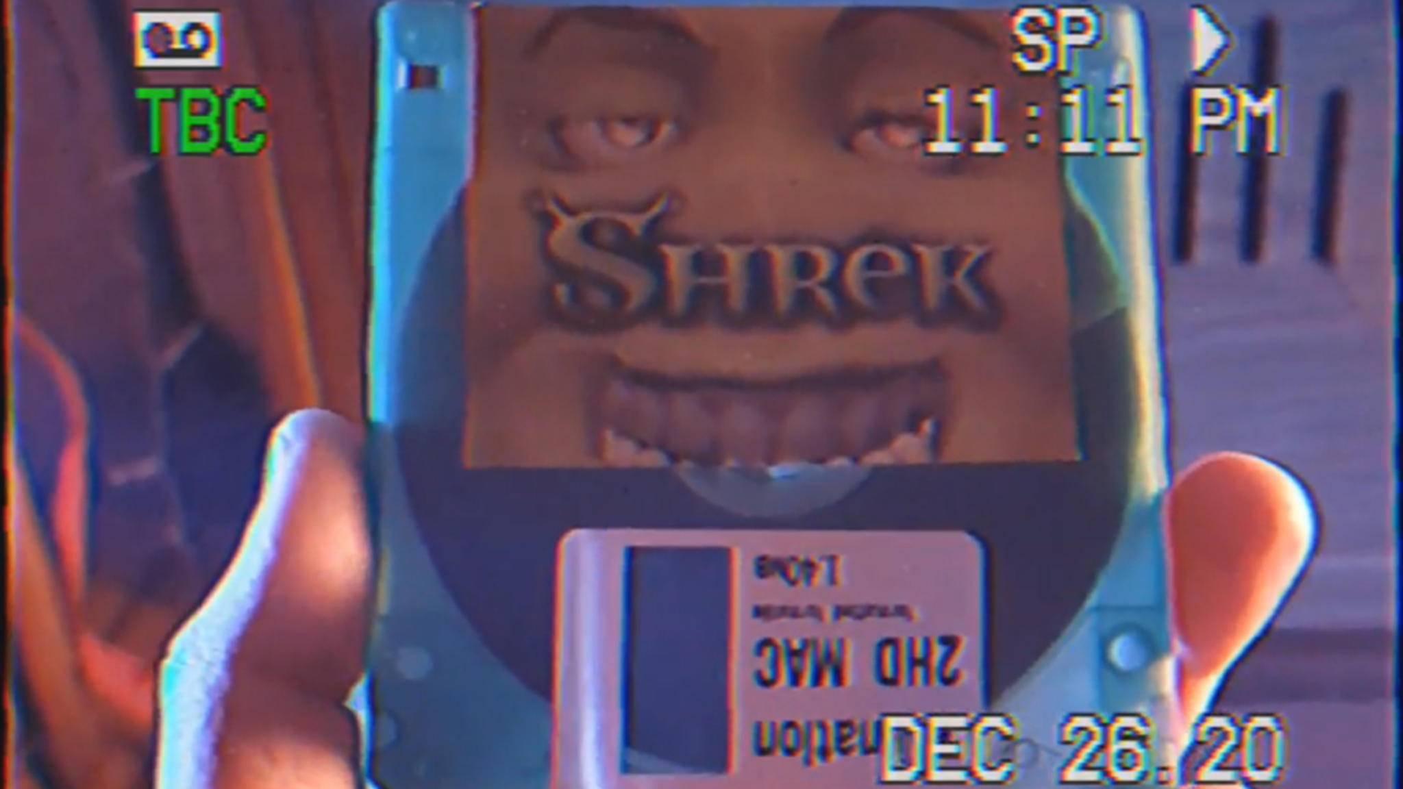 """""""Shrek"""" hat es dank eines eigenen Video-Codecs auf eine Diskette geschafft."""