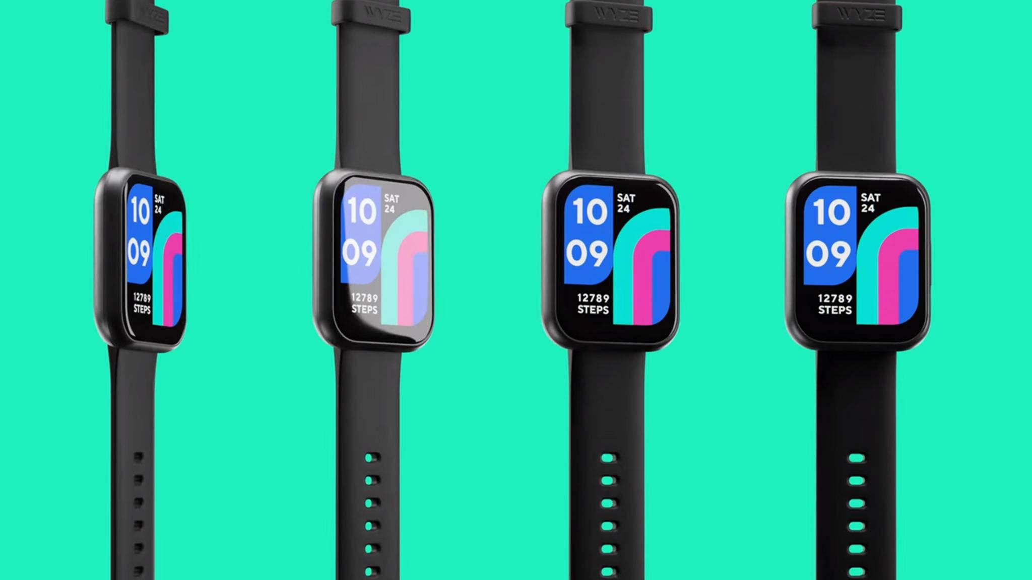 Die Wyze Watch erinnert optisch stark an die Apple Watch.