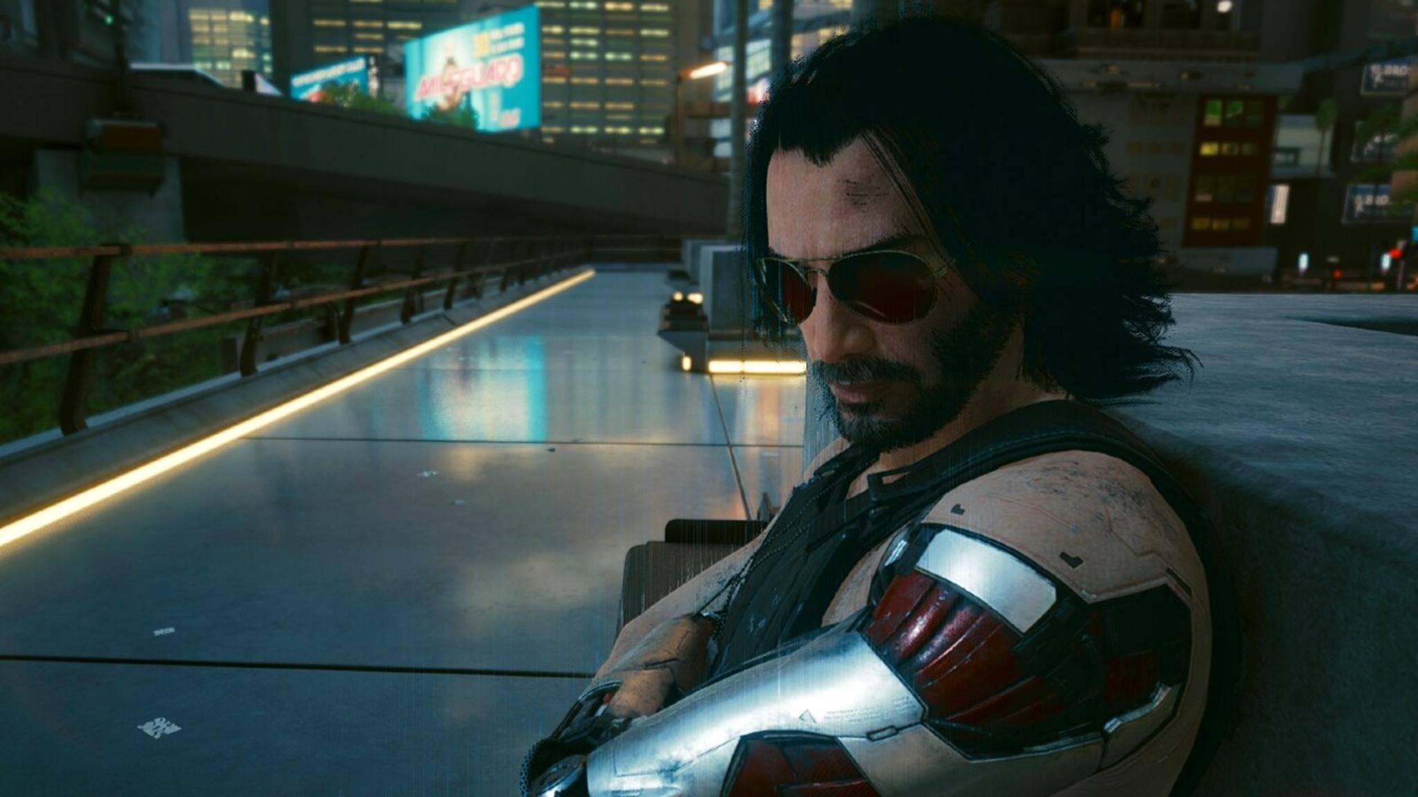 cyberpunk 2077 keanu screenshot