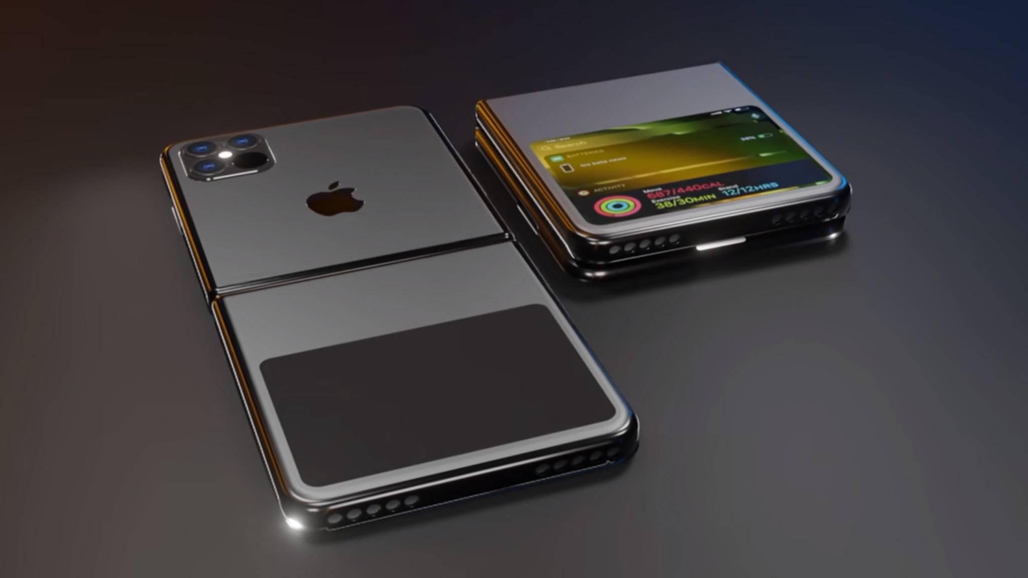 Einer der iPhone-Protoypen funktioniert ähnlich wie das Galaxy Z Flip.