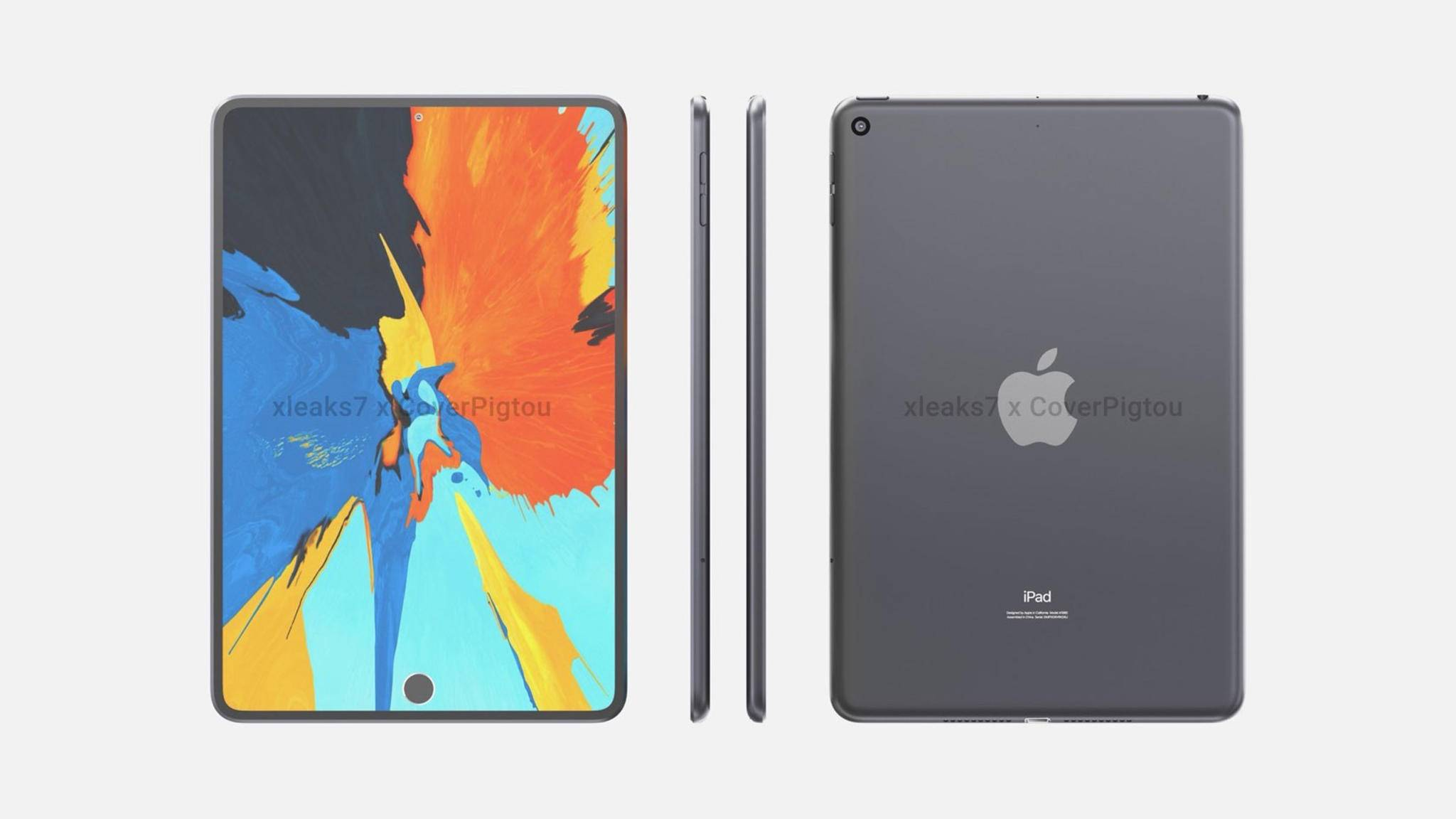 So soll das iPad mini 6 laut einem Konzept von Pigtou aussehen.