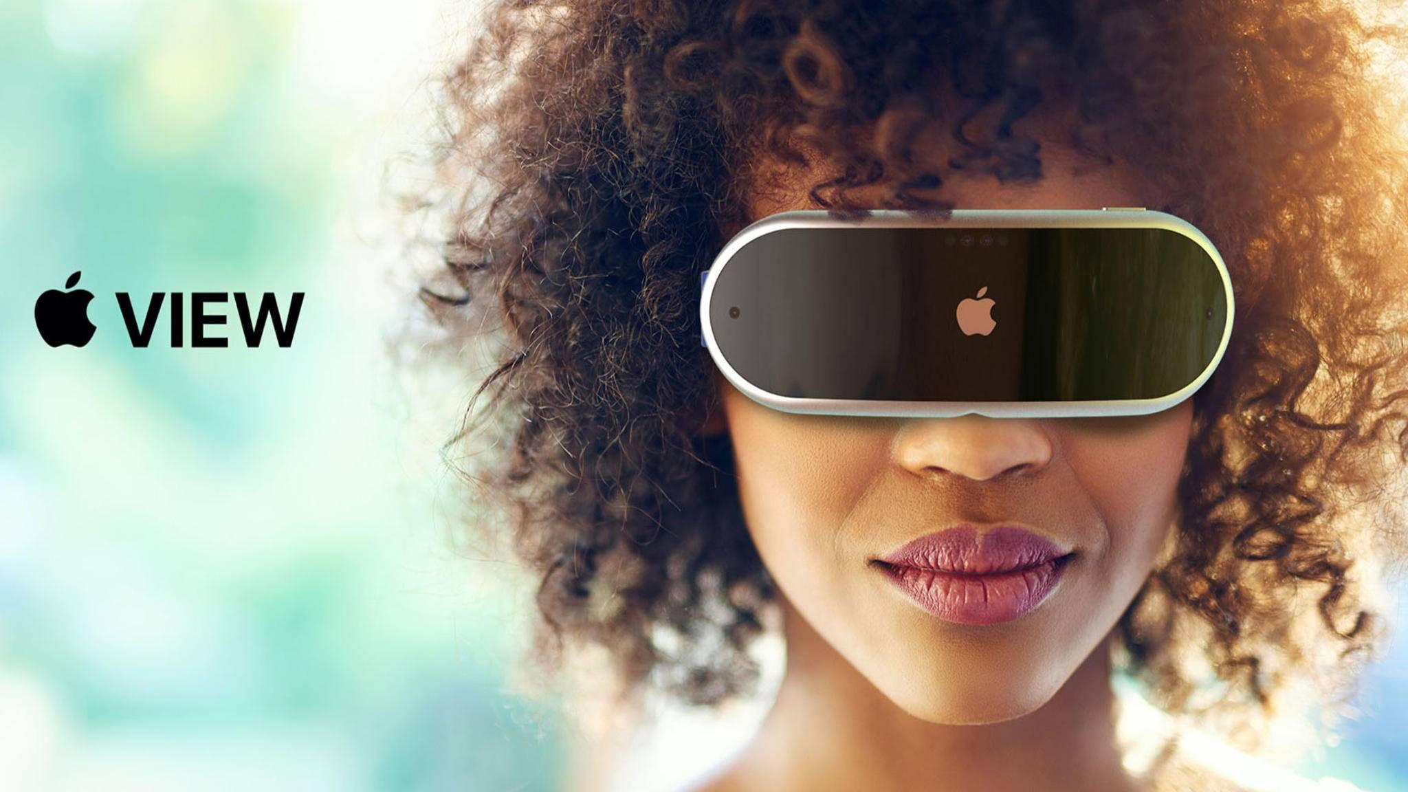 Wird Apples erstes VR-Headset etwa so aussehen?