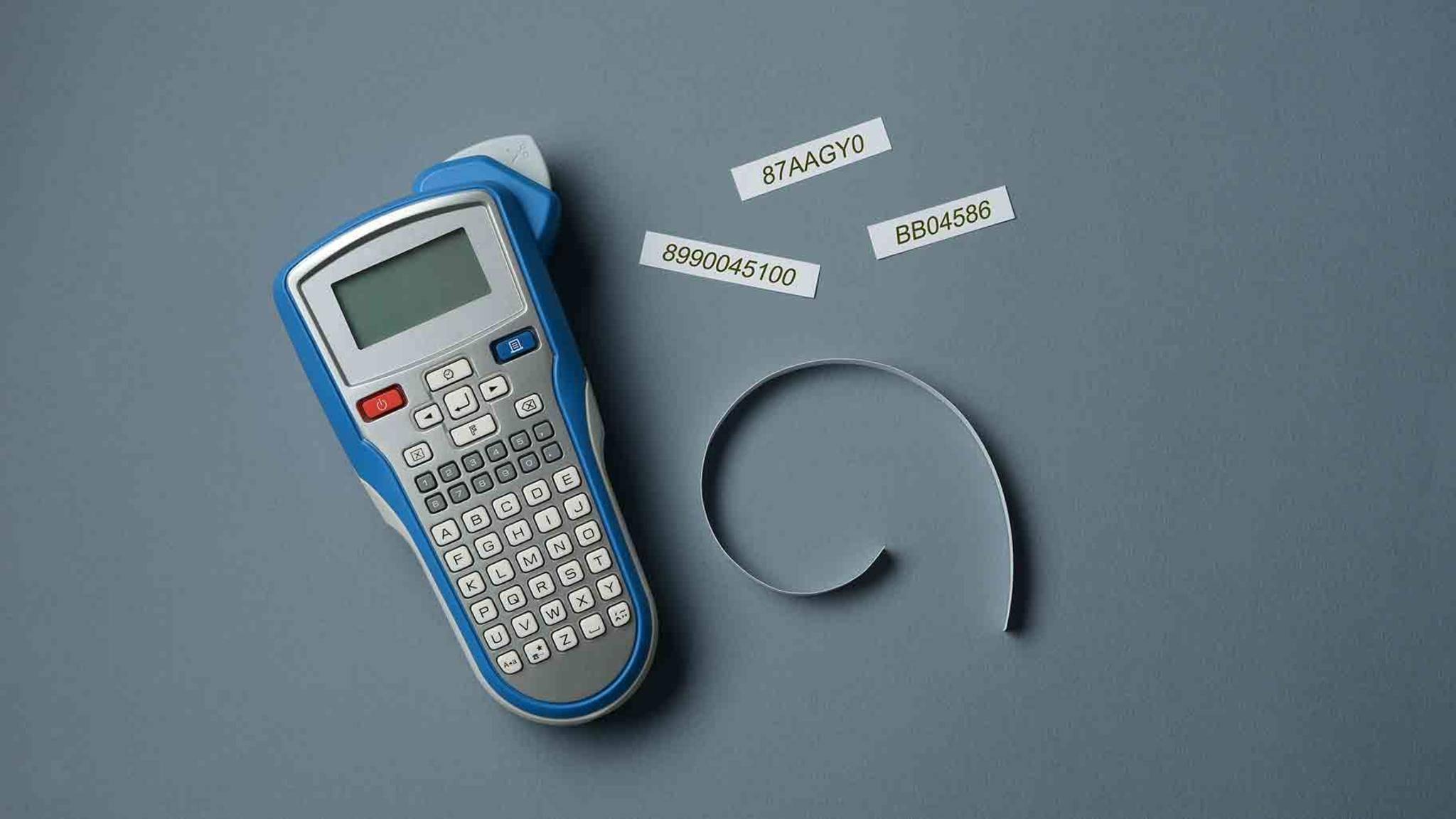 Sie sind klein, praktisch und verbessern im Handumdrehen die Organisation: Beschriftungsgeräte.