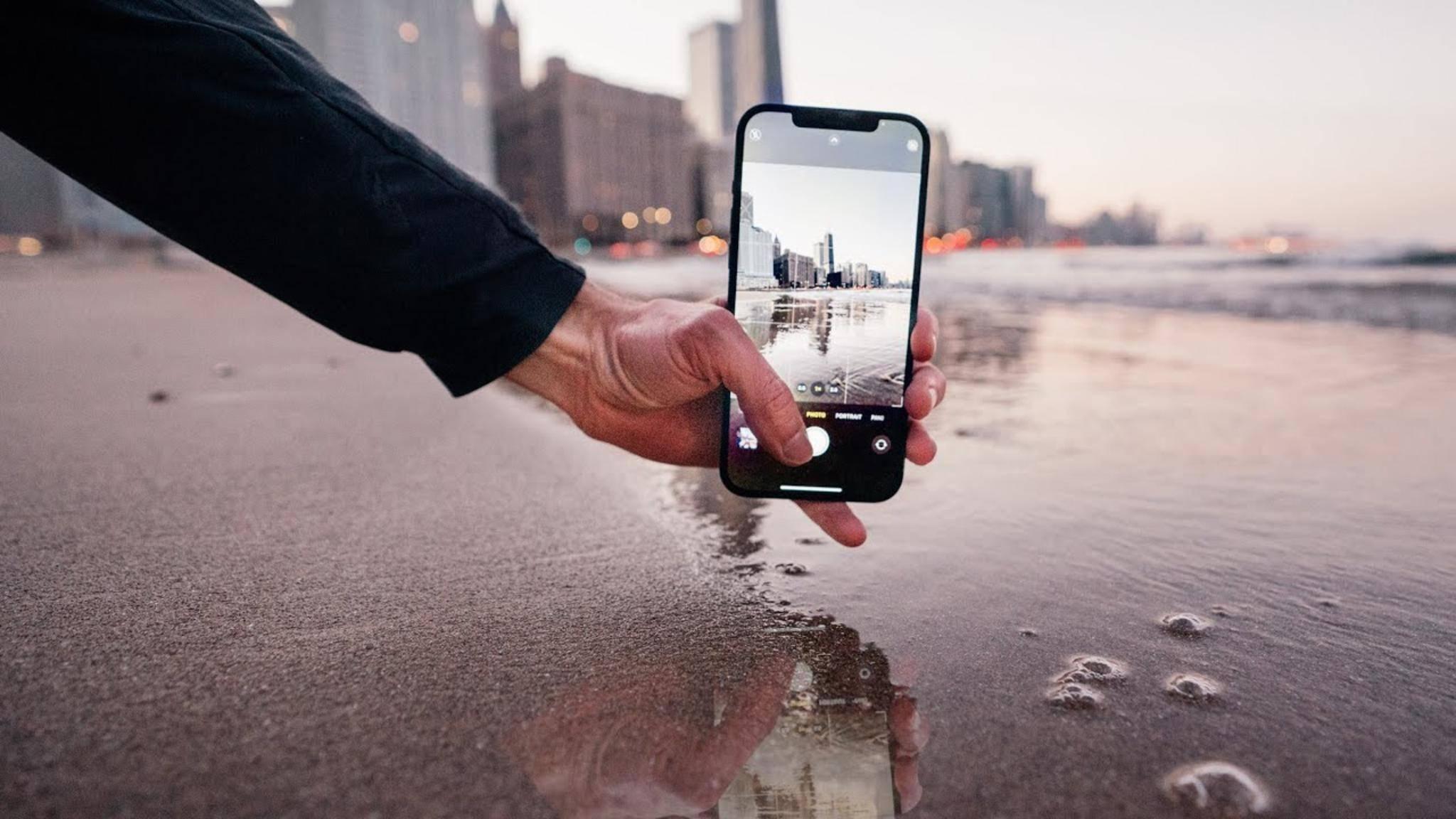 Mit dem neuen iPhone 12 Pro kannst Du RAW-Fotos ohne zusätzliche App aufnehmen.