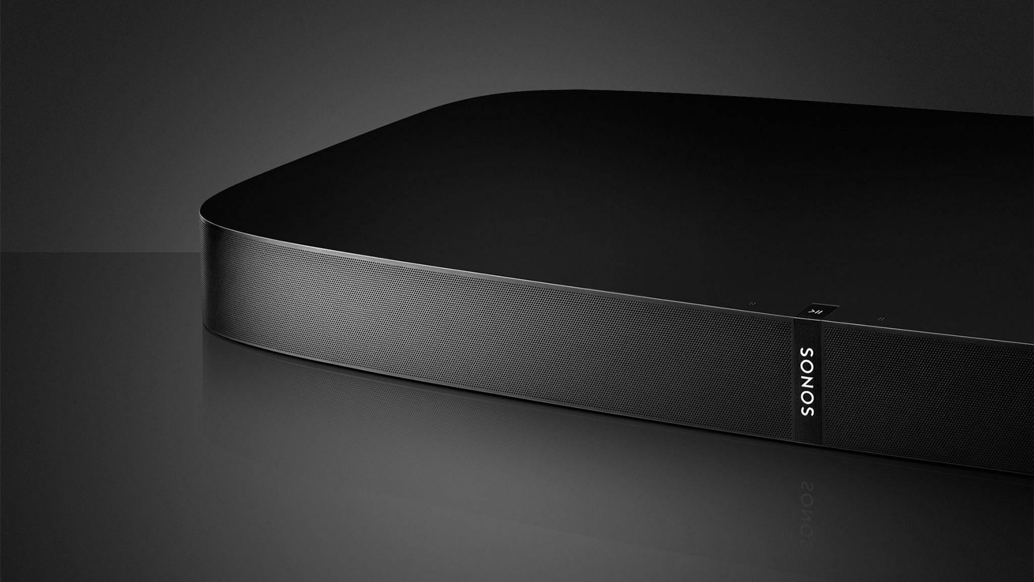 Guter Sound, ordentlich Stellfläche für den TV: die Sonos Playbase.