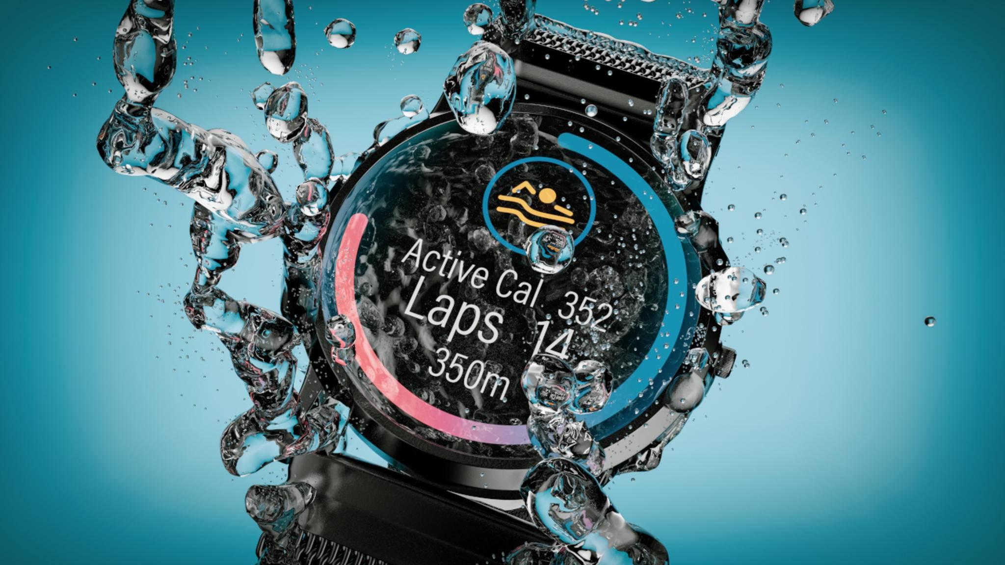 wasserdichte Smartwatch