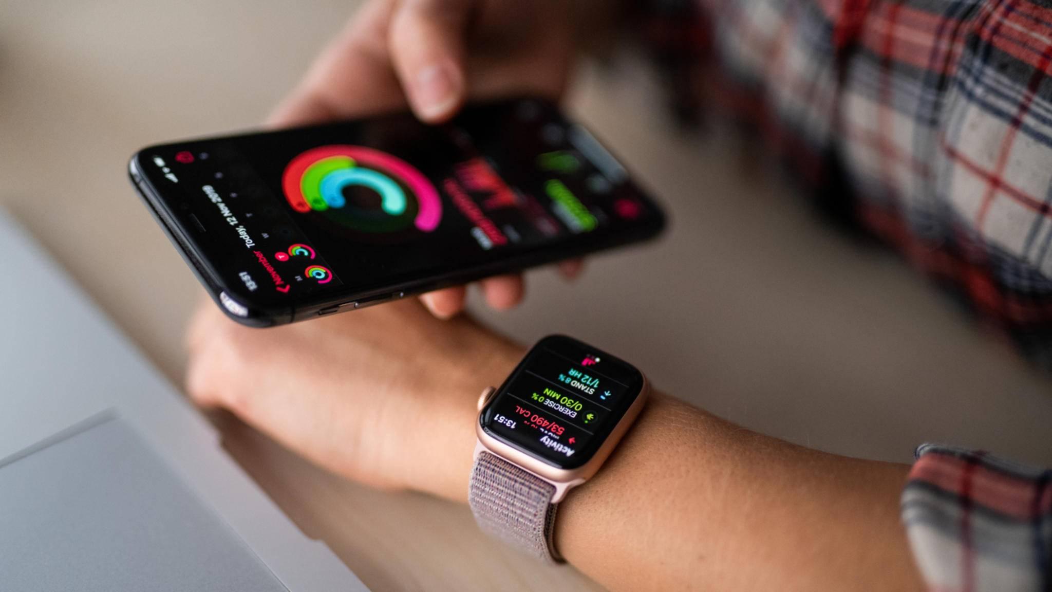 Zukünftig könnte Dich die Apple Watch zum Trinken auffordern.
