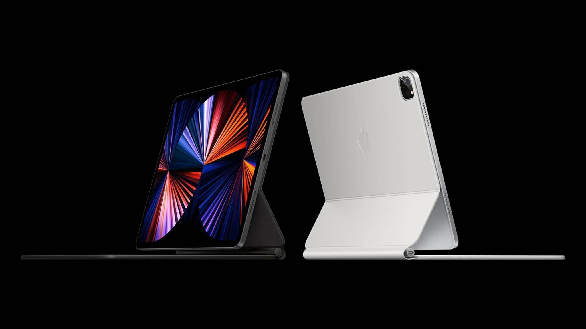 Das neue iPad Pro bietet dank M1-Chip noch bessere Performance.