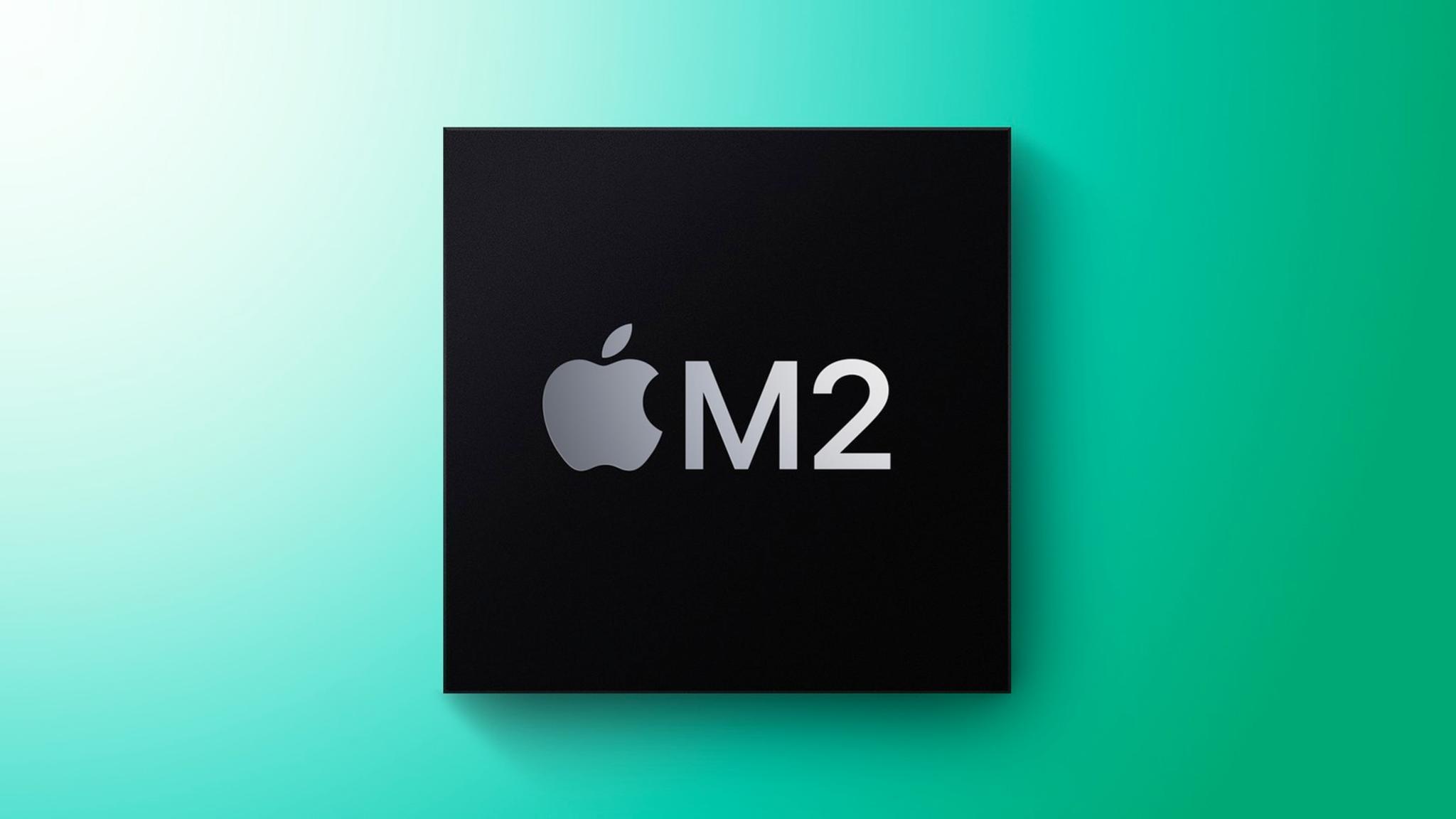 Schon im Juli sollen Apples M2-Chips ausgeliefert werden.
