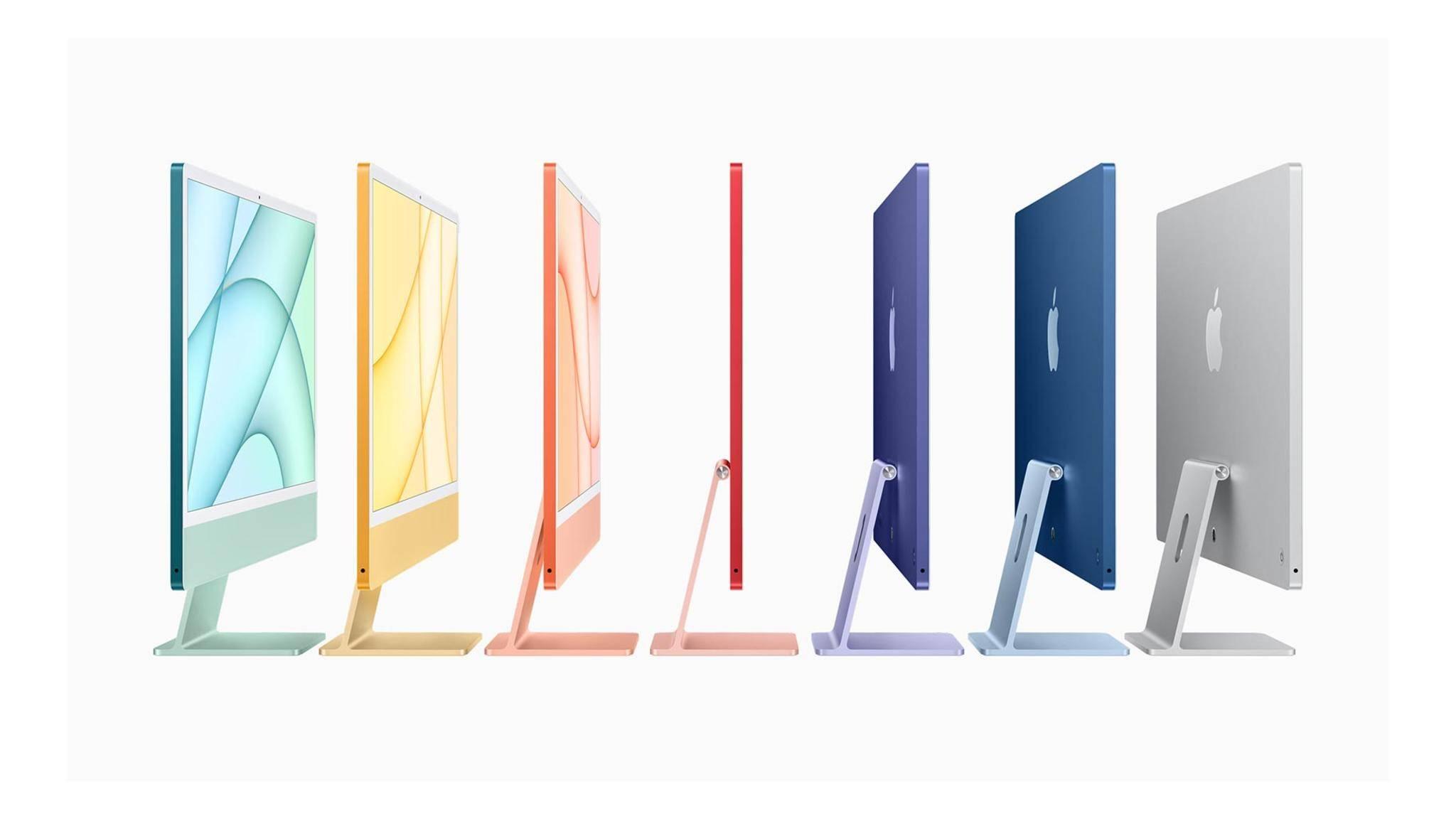 Der iMac wird farbenfroher, leistungsstärker – und schicker.