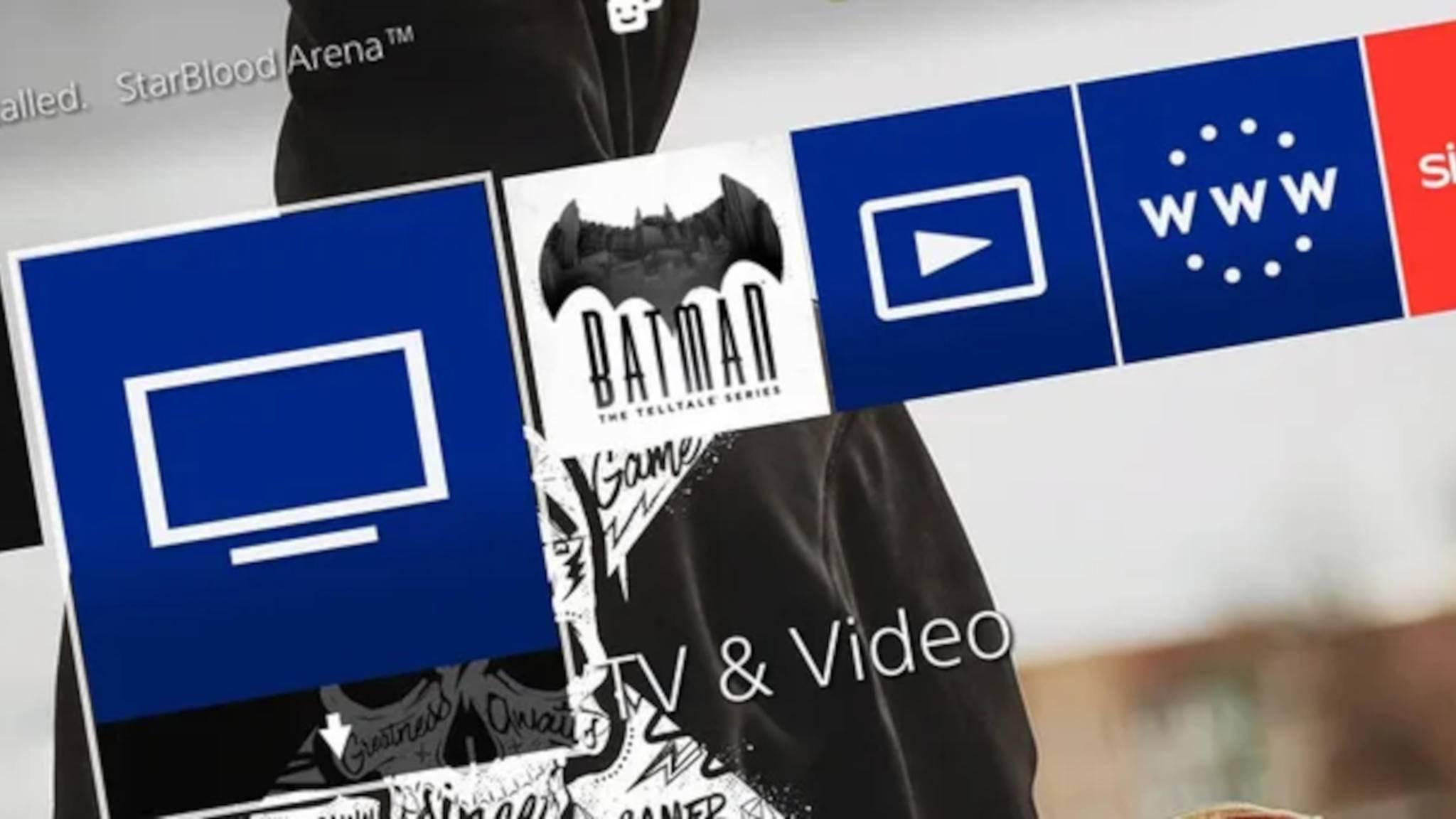 PS4-Hintergrund ändern