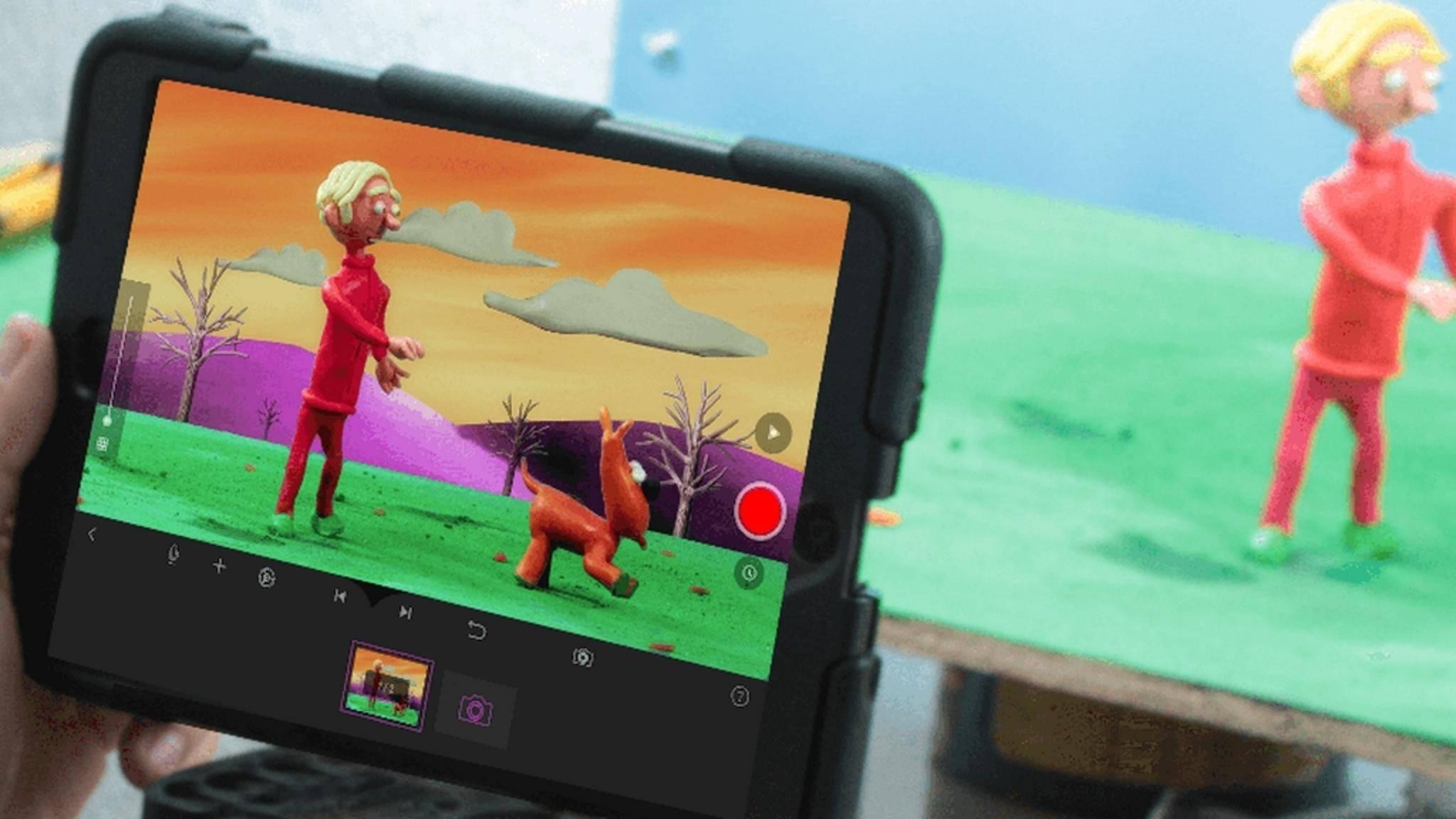 Mit Smartphone-Apps kannst Du tolle Stop-Motion-Filme erstellen.