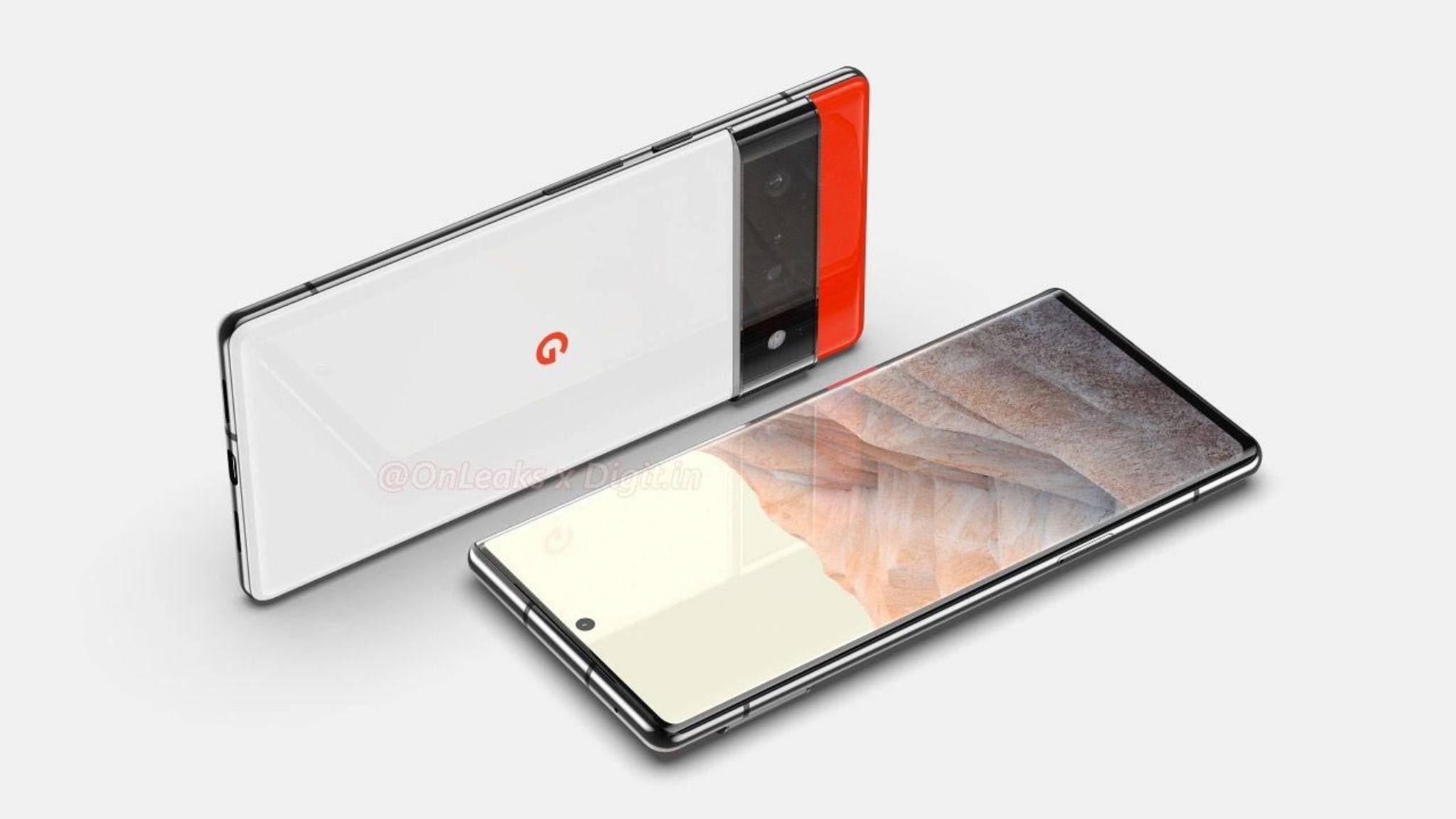 Im Netz kursieren bereits mehrere Produktbilder, die das Design des Google Pixel 6 Pro zeigen sollen.