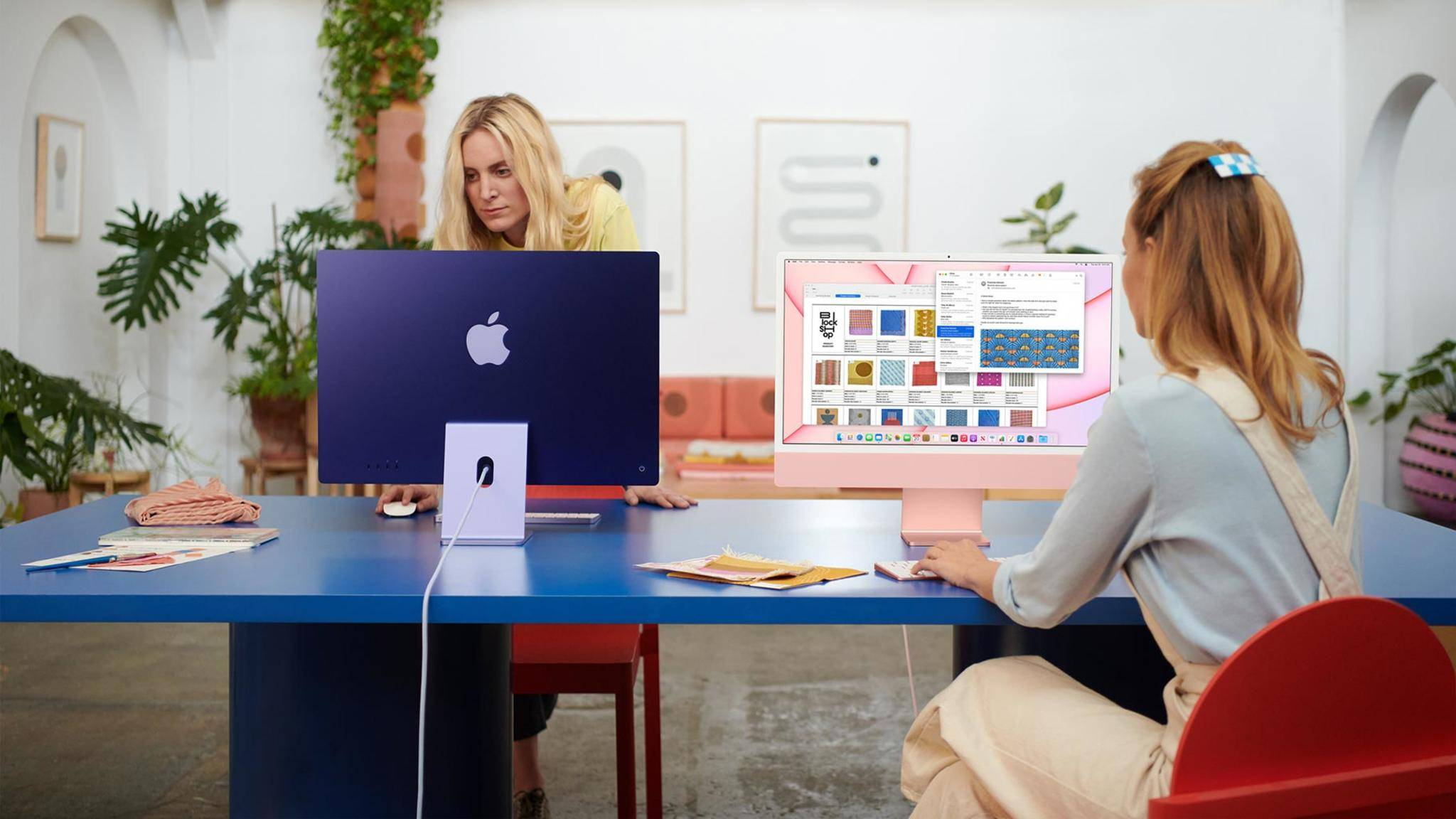 Der aktuelle 24-Zoll-iMac soll ursprünglich mit Face ID geplant gewesen sein.