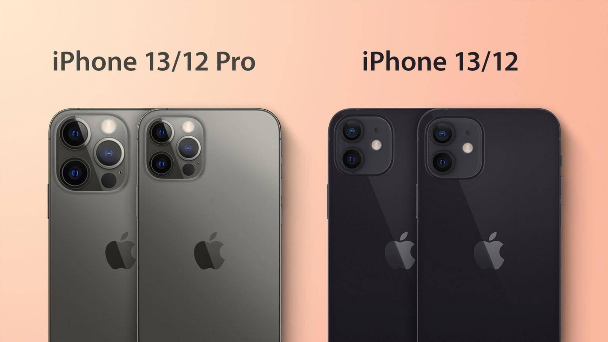 Mehr Features, größerer Kamera-Buckel? Beim iPhone 13 dürfte die Kamera jedenfalls deutlich wuchtiger werden.