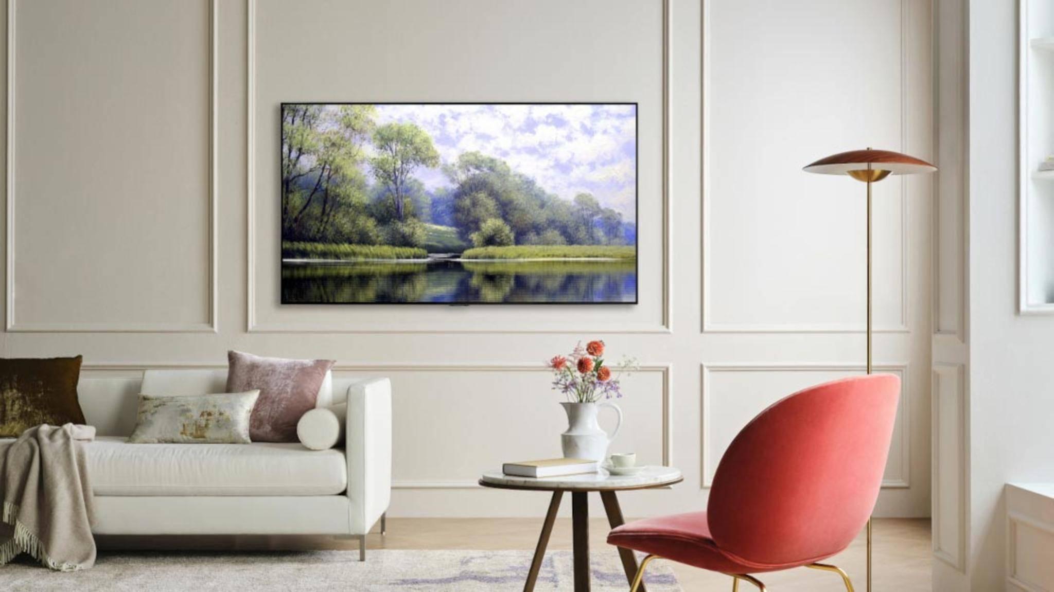 LGs OLED-Evo-TVs erreichen eine höhere Helligkeit als herkömmliche OLED-TVs.