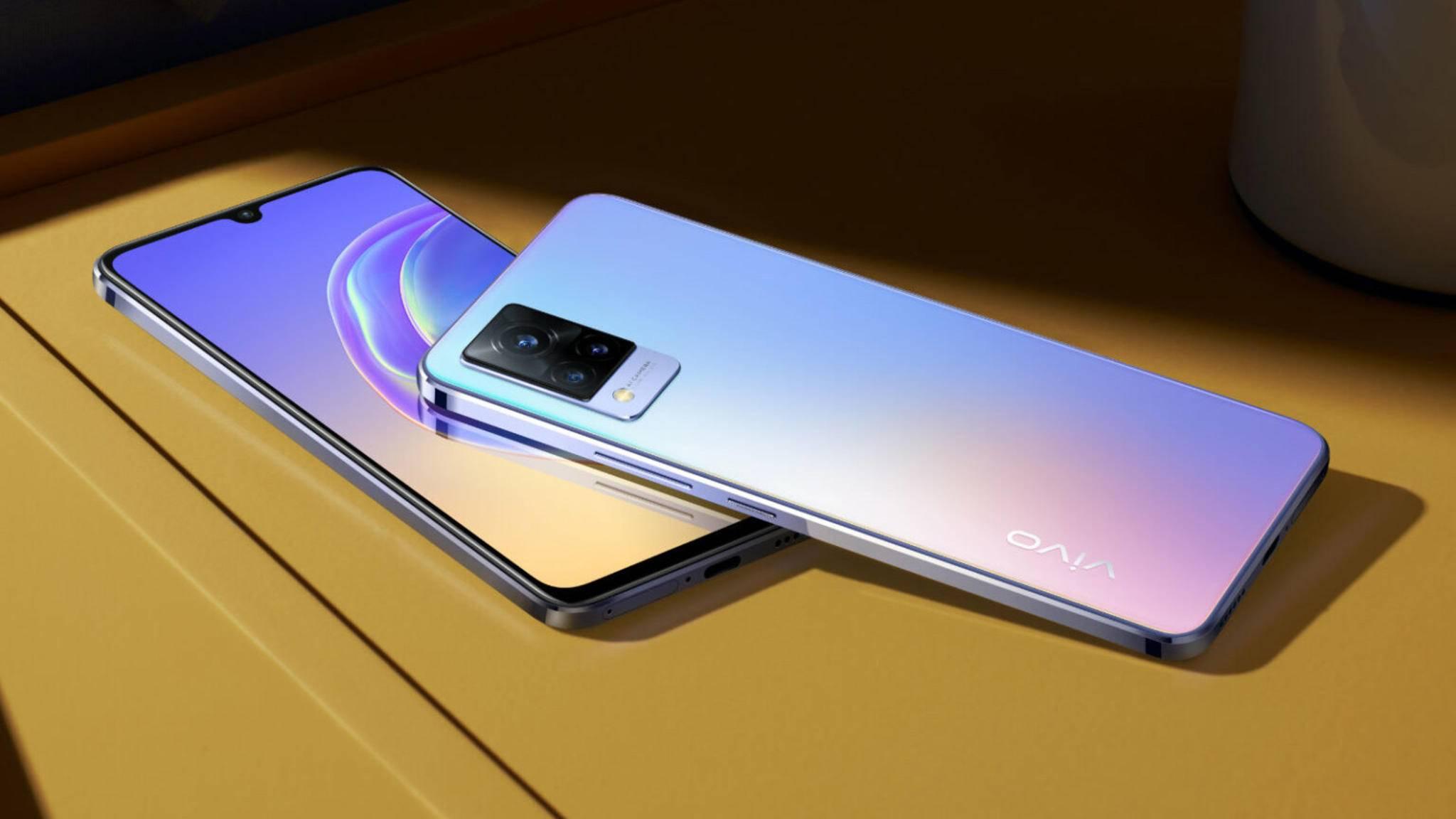Das Vivo V21 5G spricht vor allem die Selfie-Generation an.