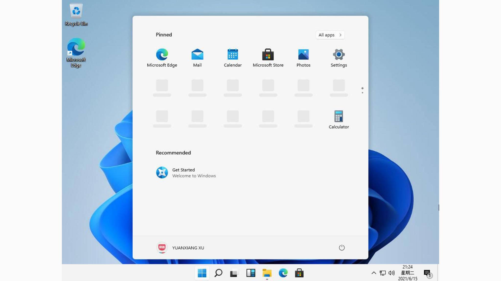 Frische App-Icons, neue Taskleiste: So soll Windows 11 aussehen.