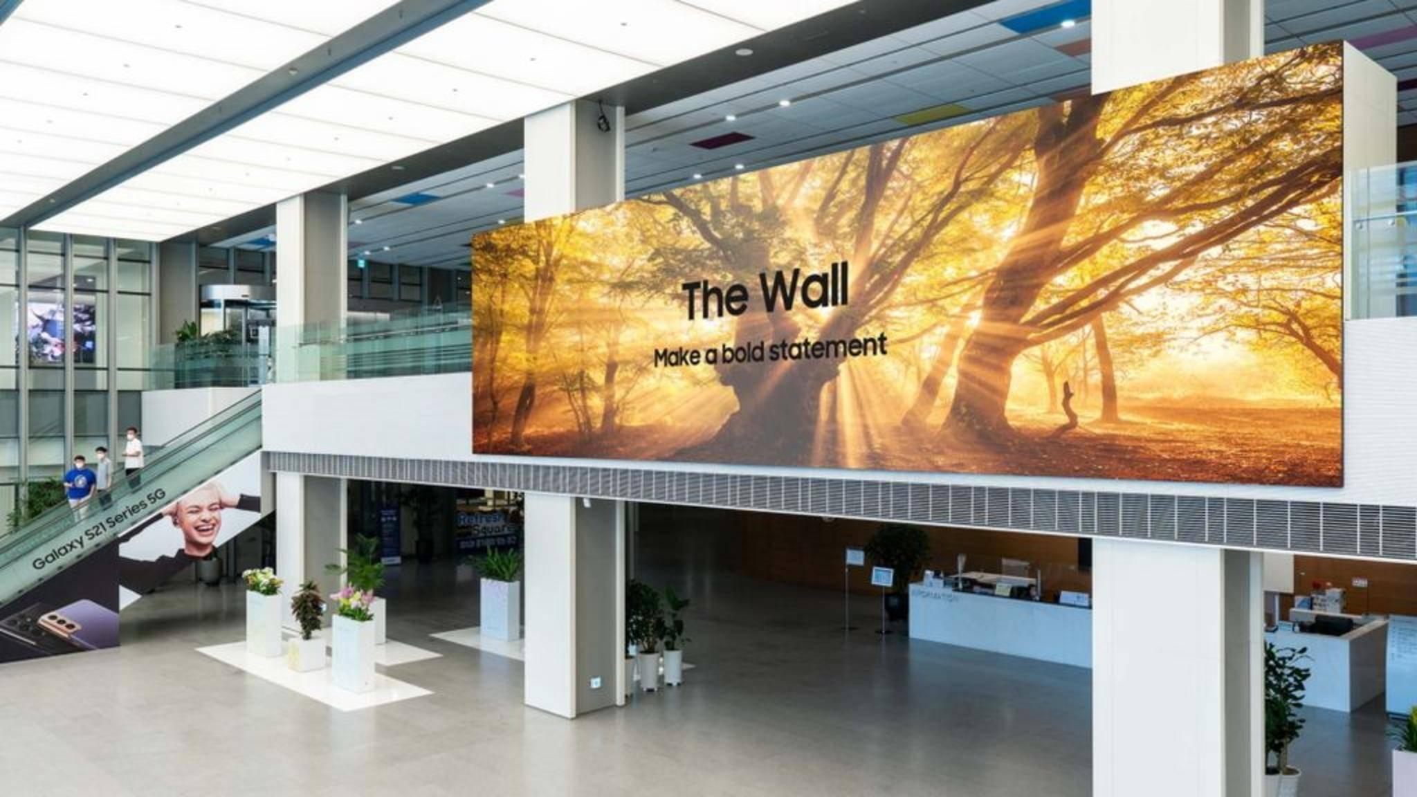 Samsung The Wall 2021 TV