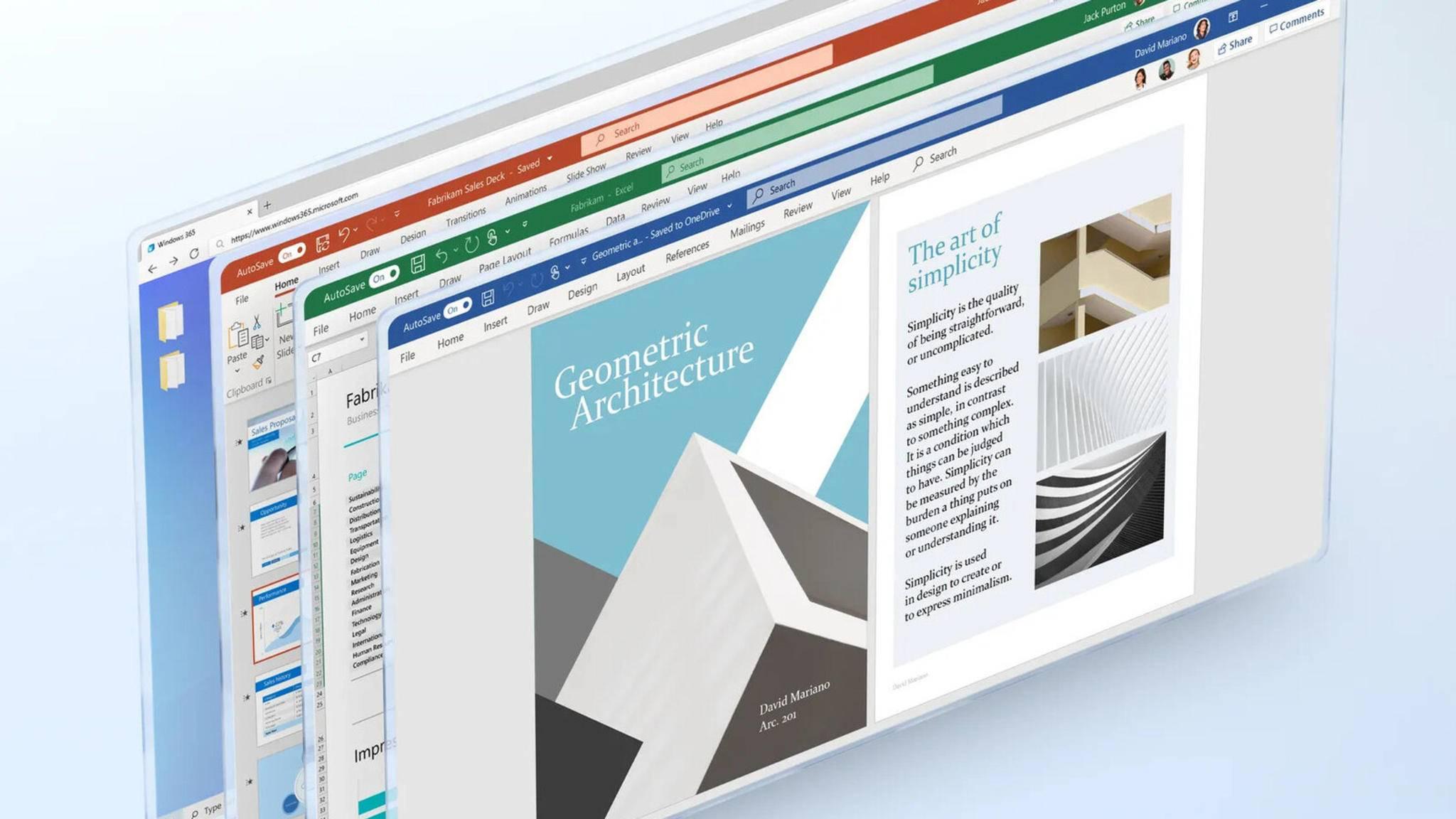Der Zugriff auf Windows 365 ist von unterschiedlichsten Plattformen aus möglich.