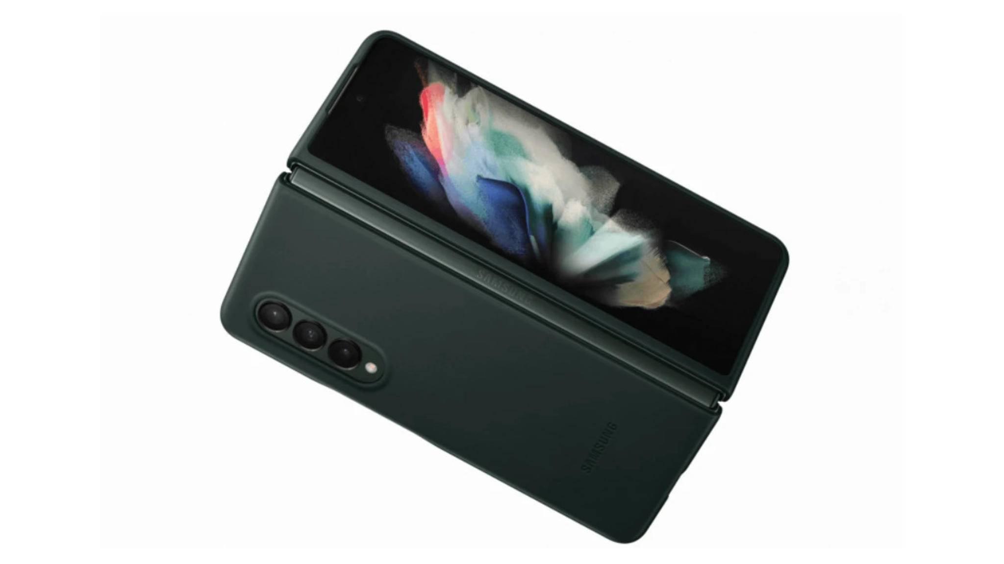 Galaxy-Z-Fold-3-geöffnet-außen