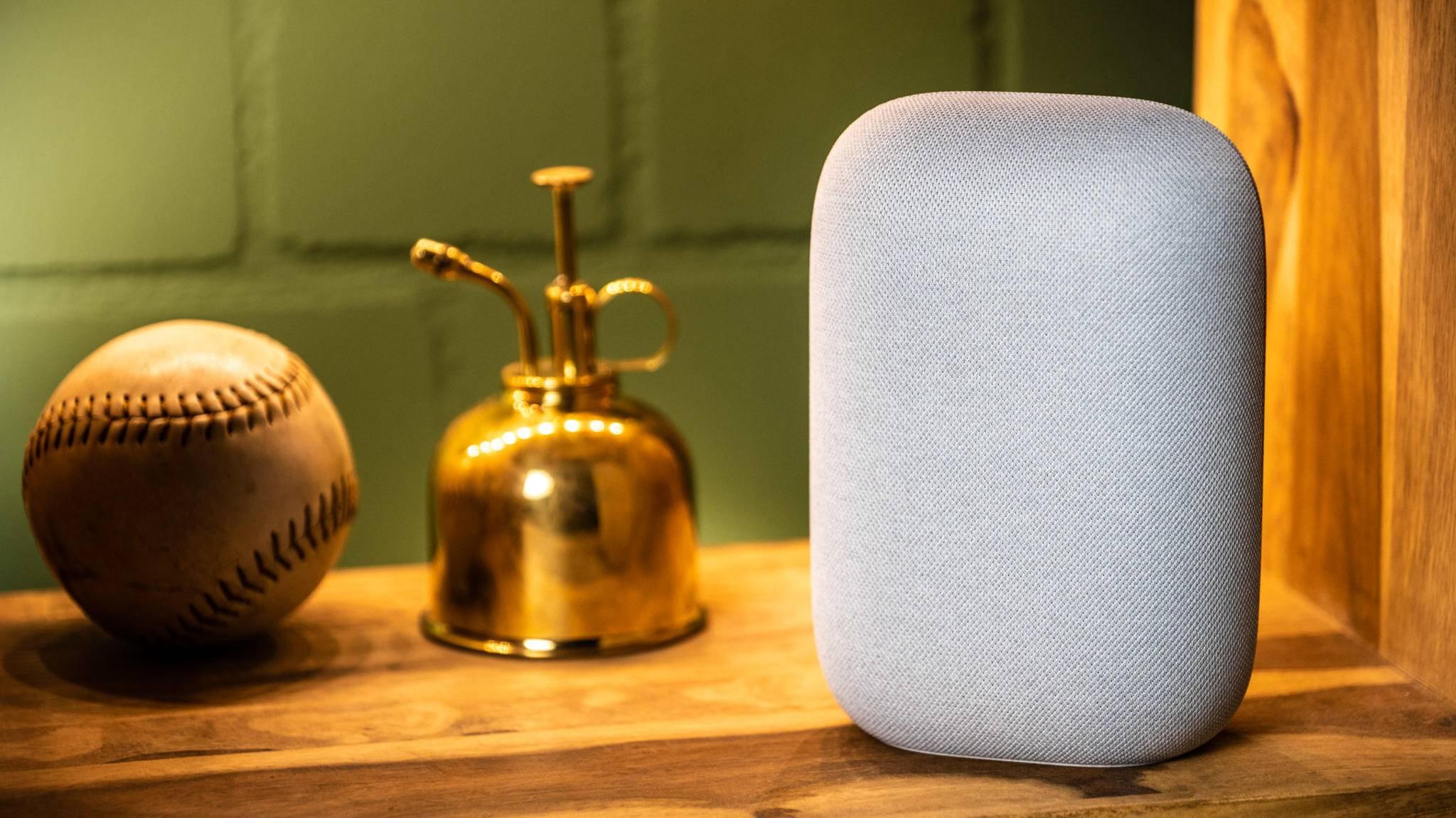 Mehr als nur ein Smart Speaker: Google Nest Audio.