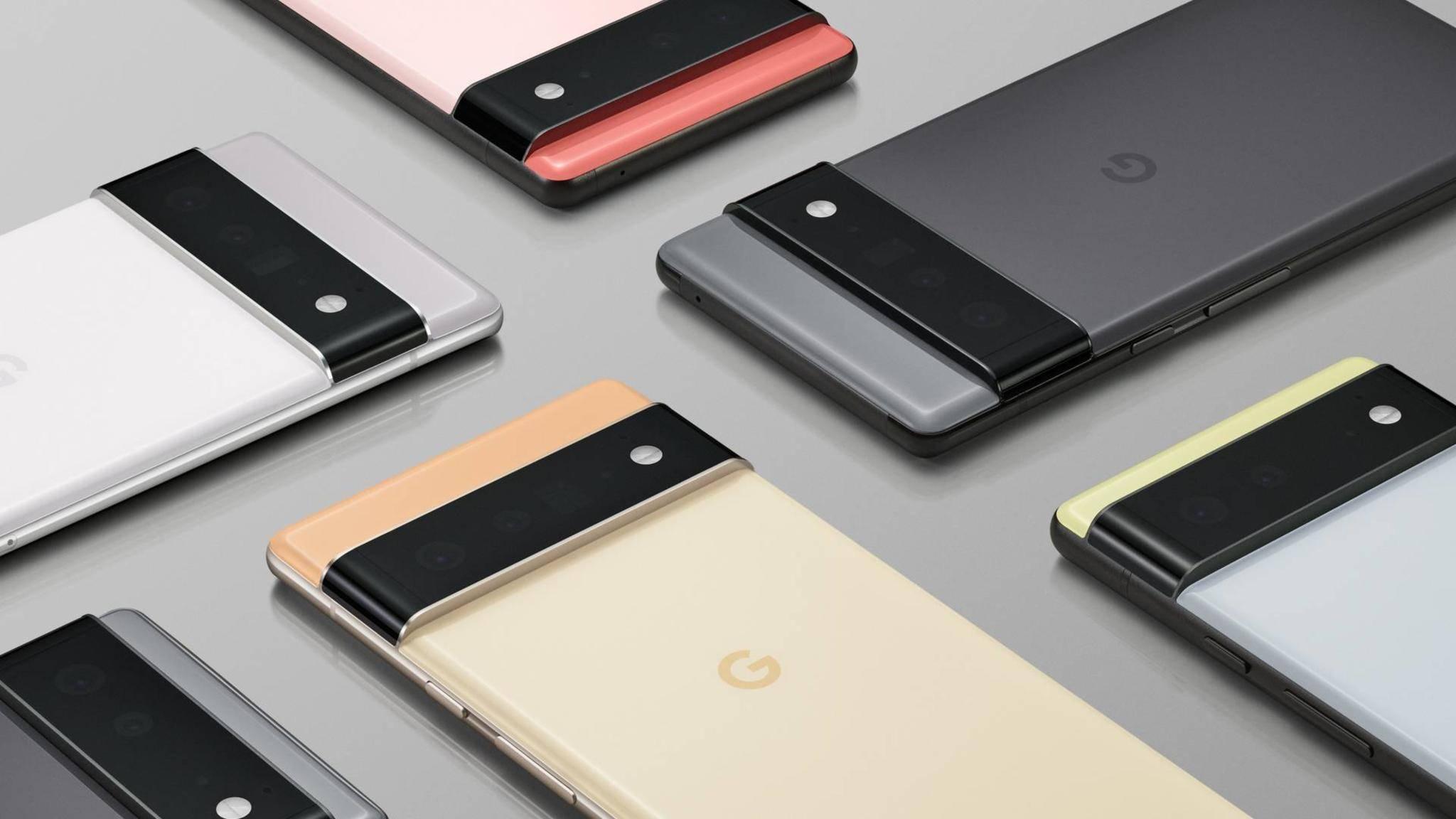 Das Pixel 6 wird es anscheinend auch im Abo mit Google-Diensten geben.