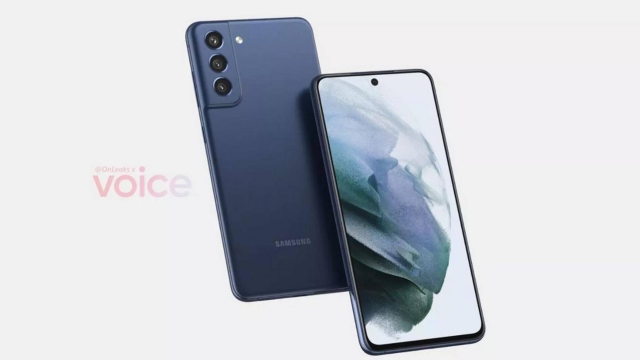 So könnte das Samsung Galaxy S21 FE aussehen.