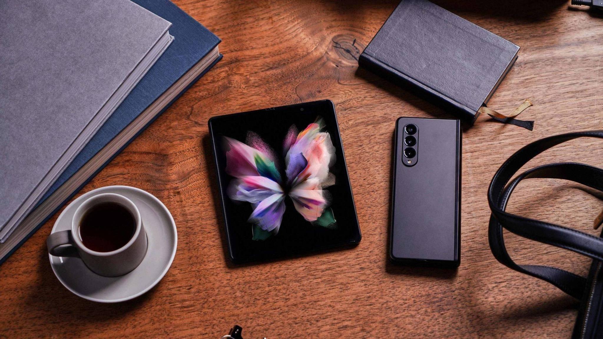 Das Galaxy Z Fold 3 soll ein Produktivitäts-Monster sein.