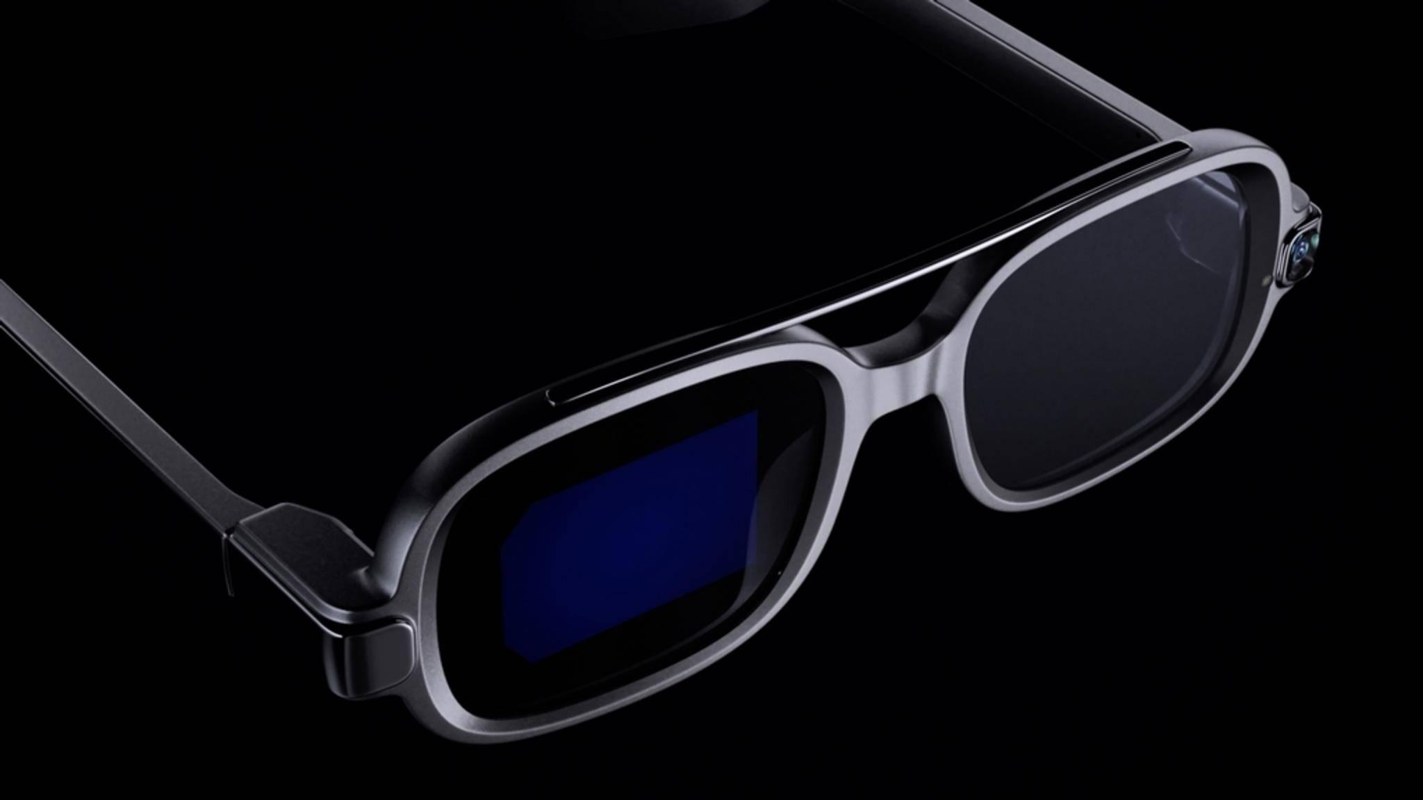 Die Xiaomi Smart Glasses sollen eine waschechte AR-Brille sein.