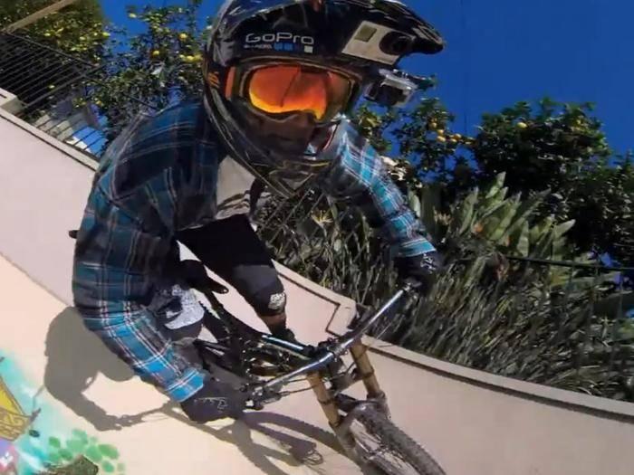 Mit der GoPro lassen sich die spektakulärsten Unternehmungen auf Video festhalten.