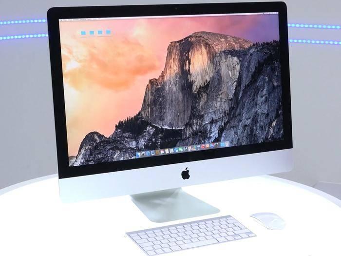 Nach Full HD bringt Apple direkt einen iMac mit 5K-Auflösung heraus.
