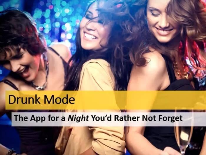 Die Drunk Mode-App ist für iOS und Android erhältlich.