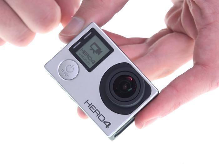 Alex präsentiert die GoPro Hero 4 Silver Edition im Hands-On.