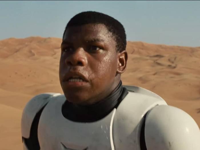 """John Boyegas Charakter in """"Star Wars 7"""" hört auf den Namen """"Finn""""."""