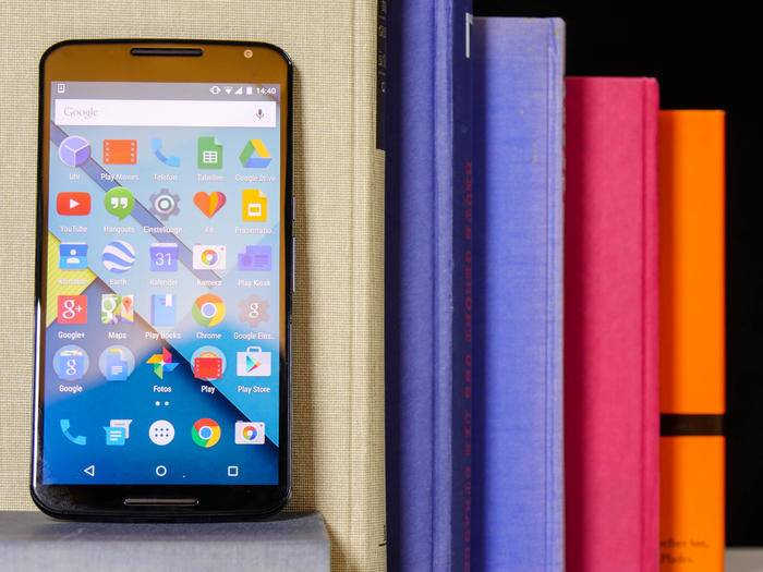 Das Google Nexus 6 hat ein riesiges 6-Zoll-Display.