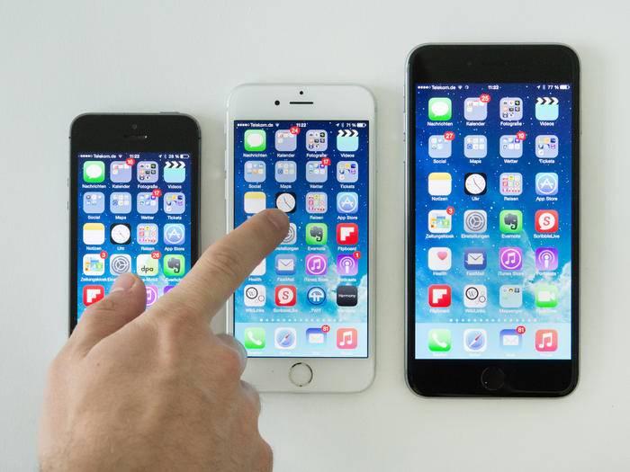 Daten können via Backup ganz leicht aufs neue iPhone 6 übertragen werden.