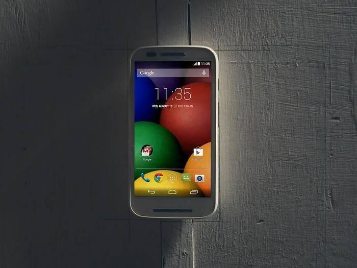 Im Mai 2014 stellte Motorola das erste Moto E vor – damals aber noch ohne LTE.
