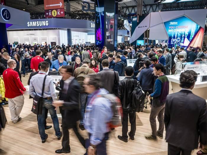 Das Galaxy S6 wurde zum Auftakt des MWC 2015 vorgestellt.