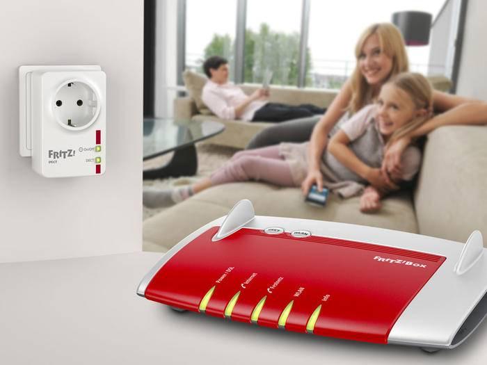 Mit Fritz Dect von AVM lassen sich Verbraucher an Steckdosen kinderleicht schalten.