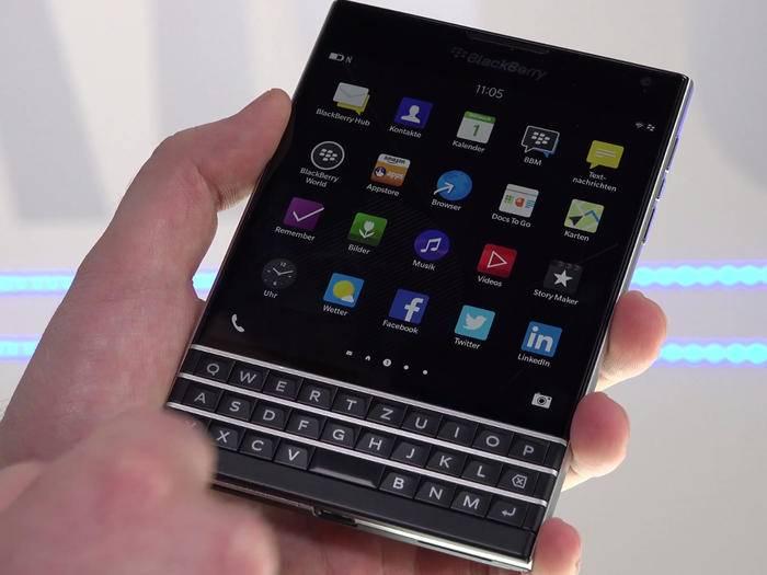 Alex hat das BlackBerry Passpor getestet.